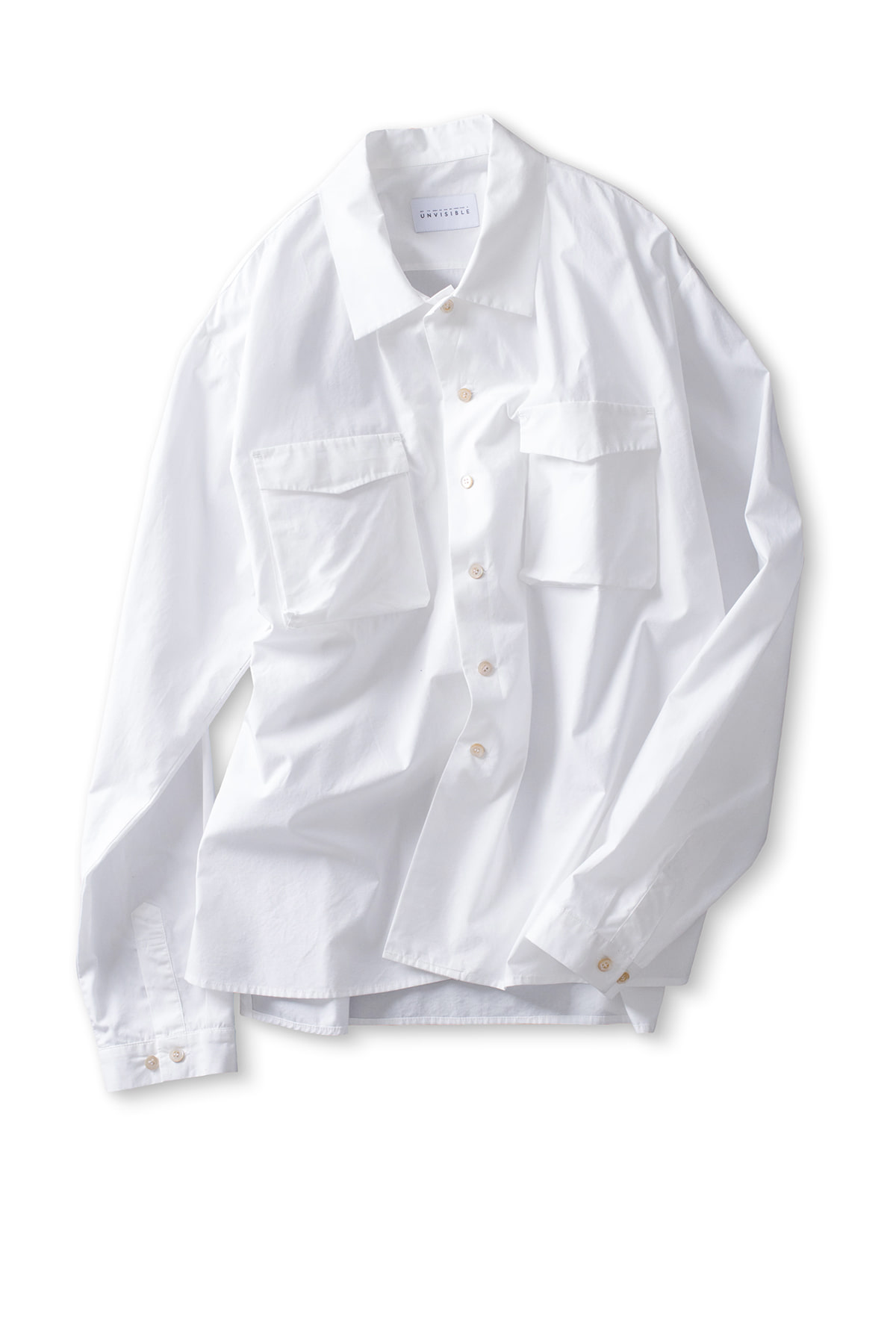 UNVISIBLE : Sunday Shirt (White)