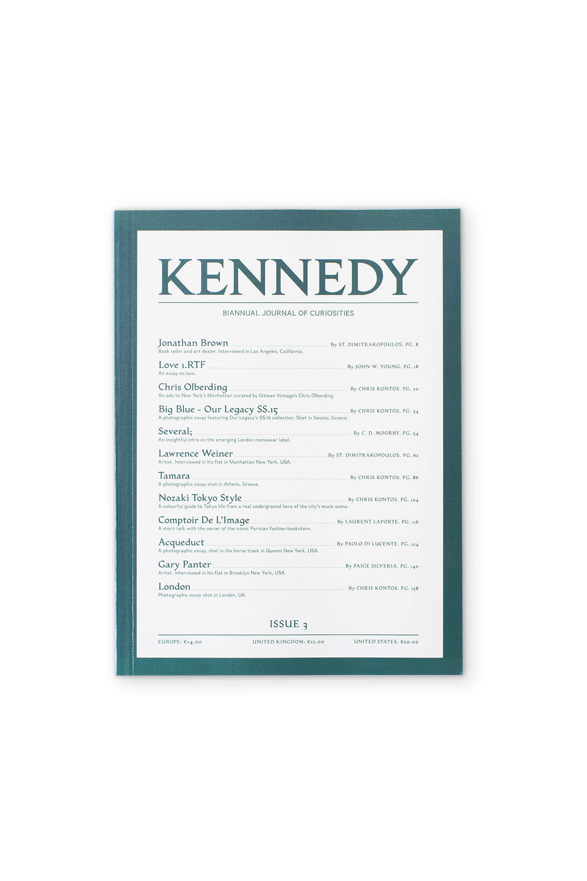 KENNEDY MAGAZINE : Issue. 03
