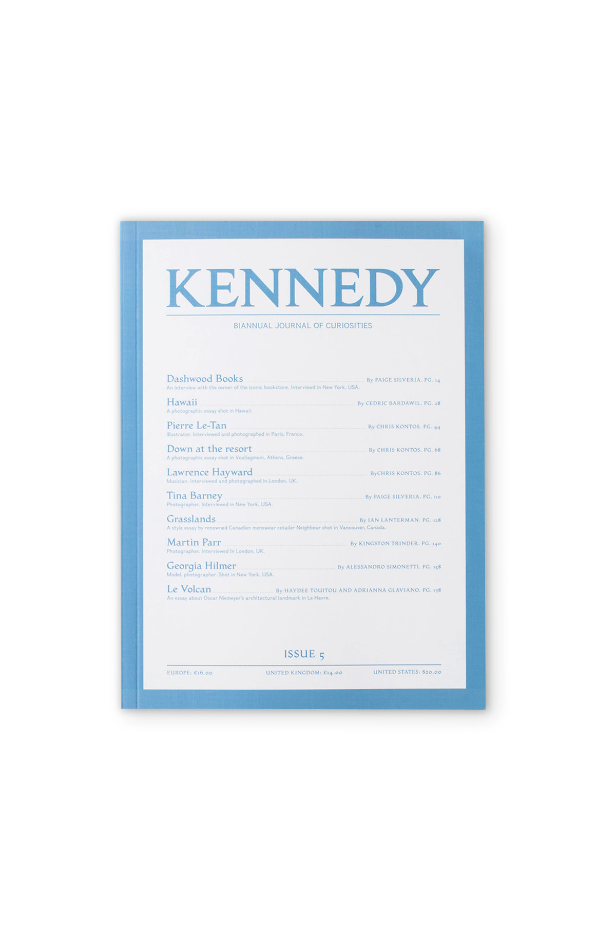 KENNEDY MAGAZINE : Issue. 05