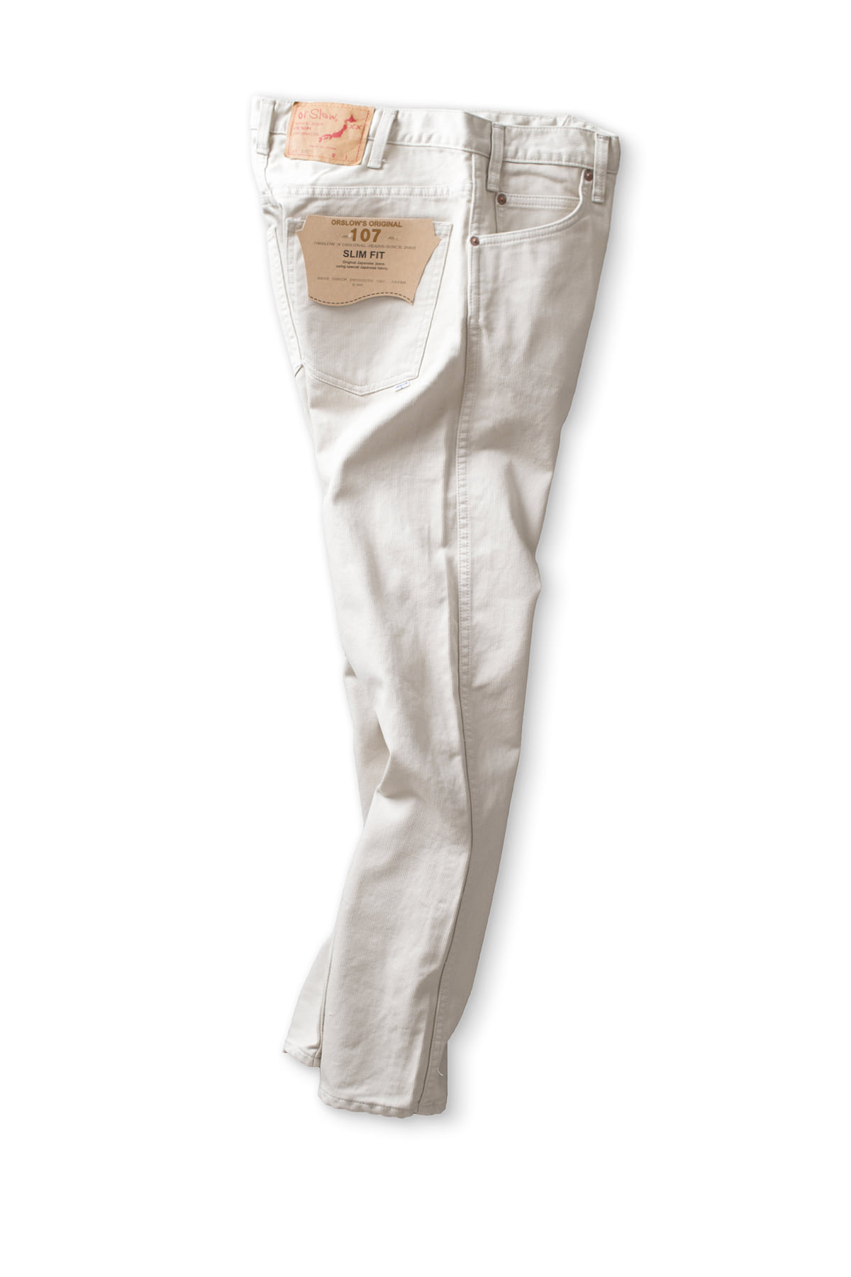 orSlow : Ivy Fit Bedford Cords (65 Ivory)