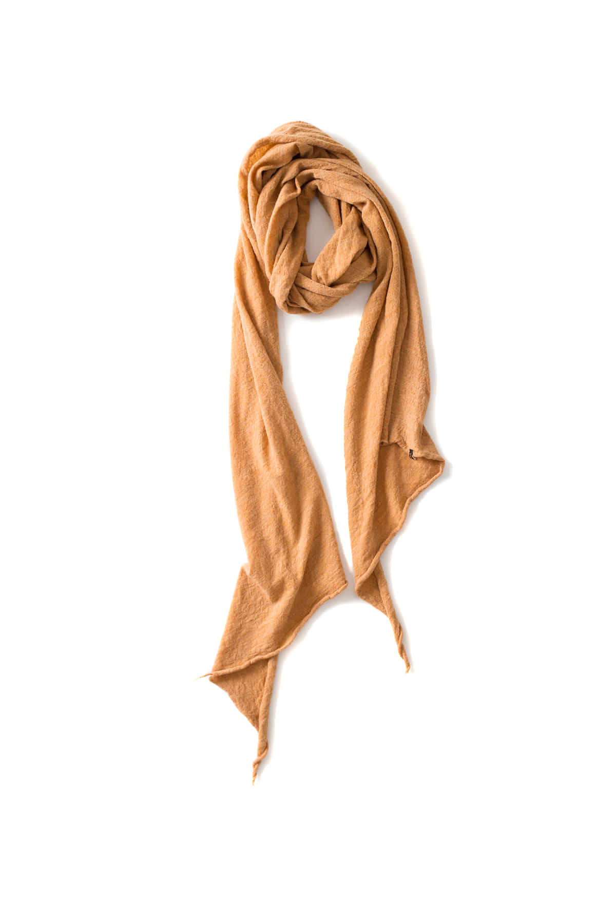 RYU : Washable Wool Gauze Stole (Mustard)