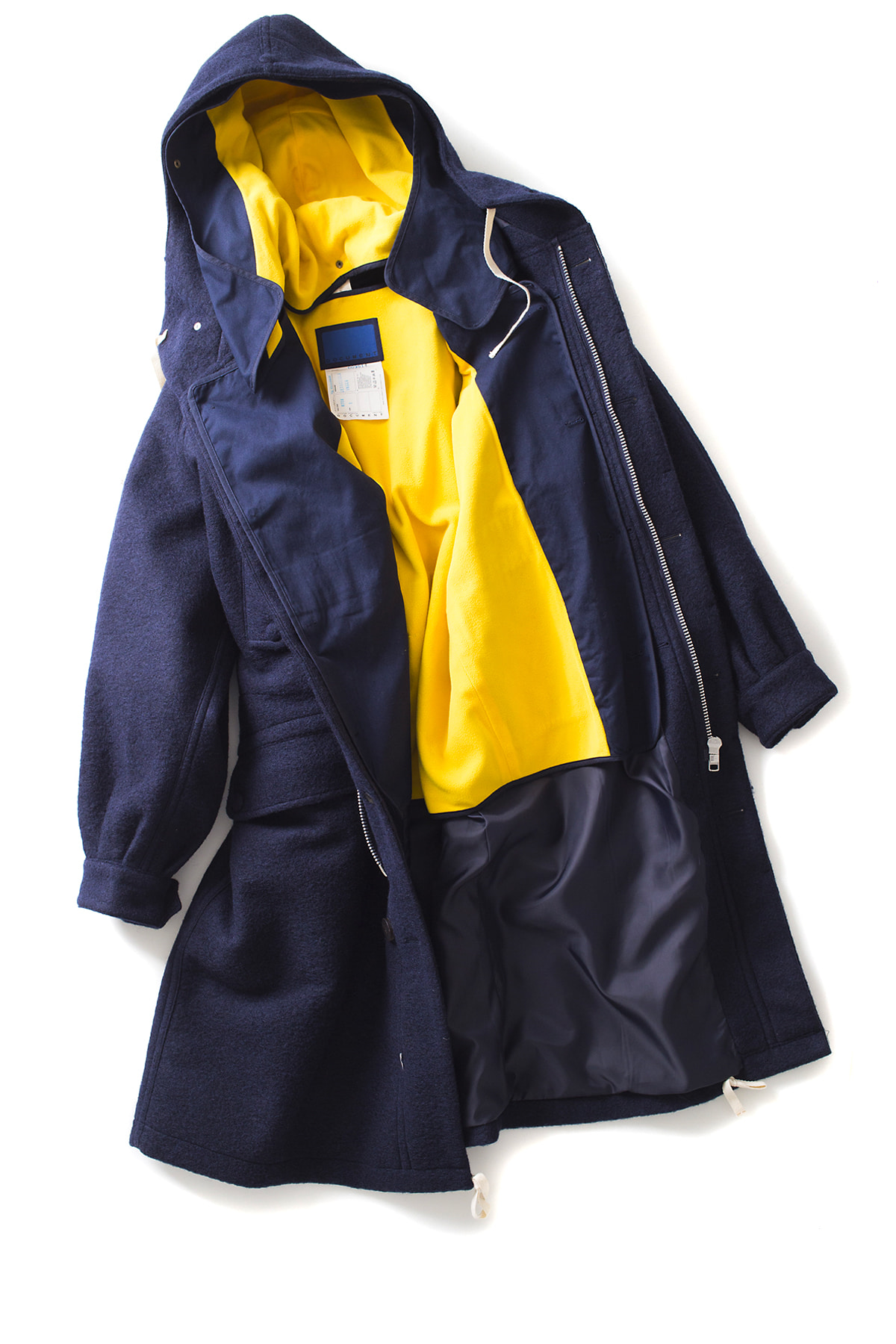 Document : The Document Wool Parka (Navy)