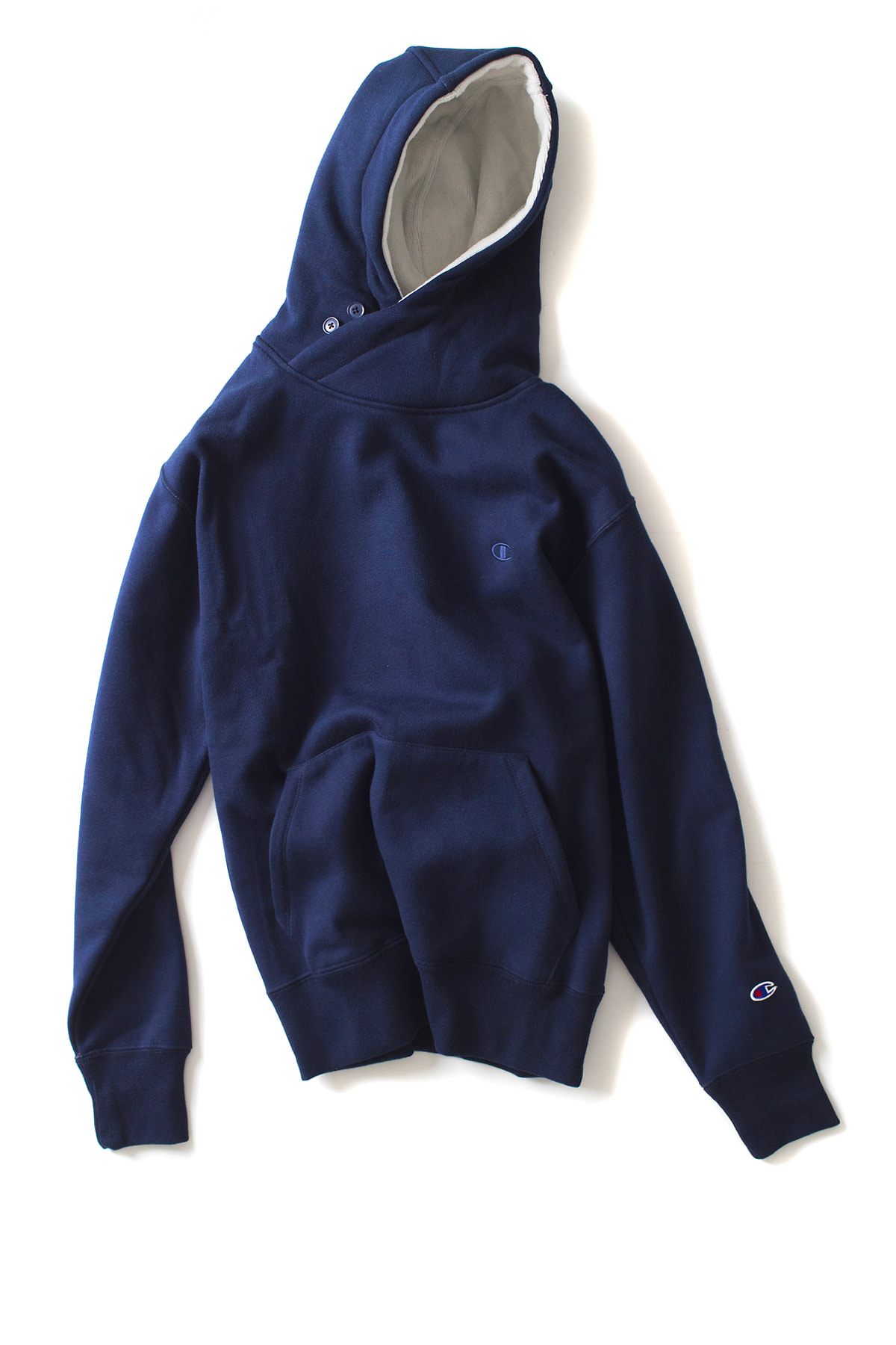 Champion : Champus Pullover Hooded Sweatshirt (Navy)