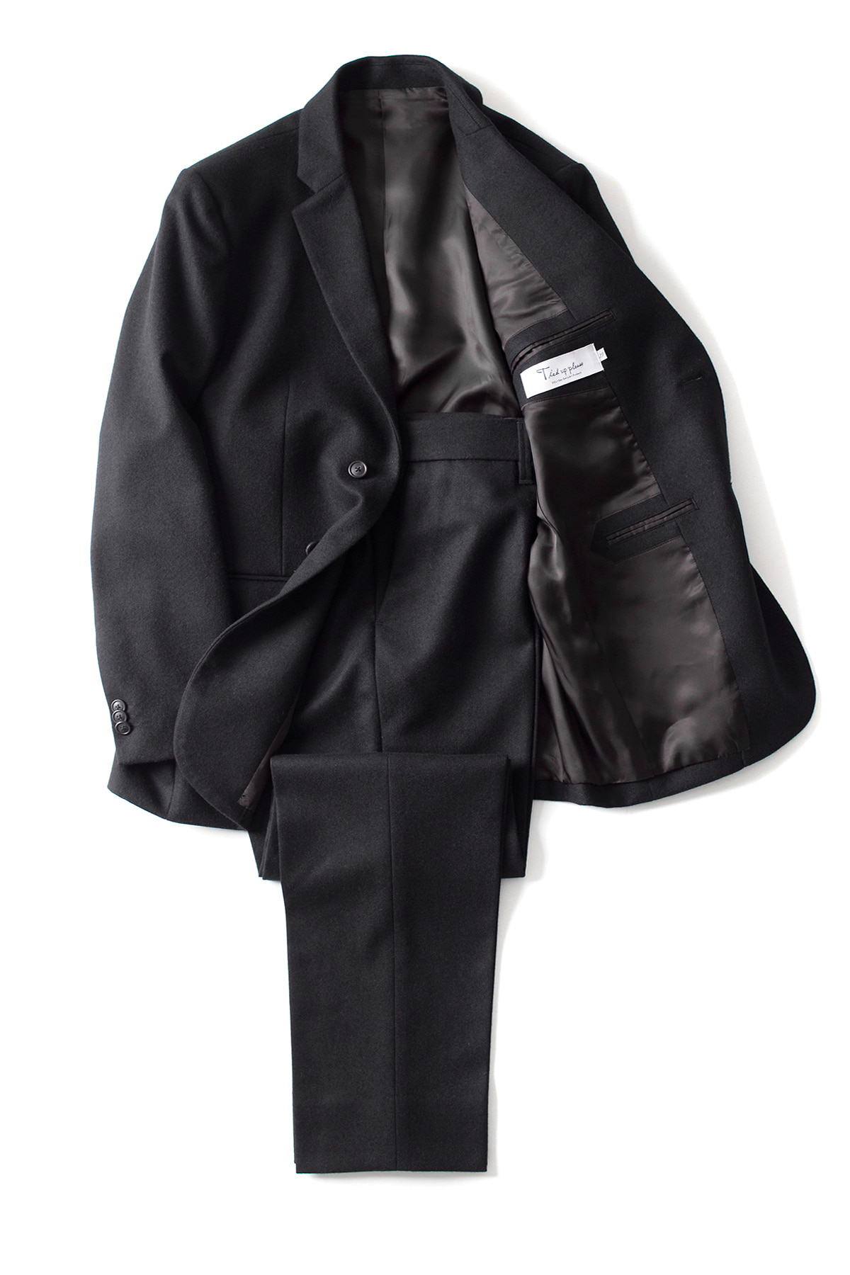EEL/Tied Up Please : Stylish Man 2piece (Black)