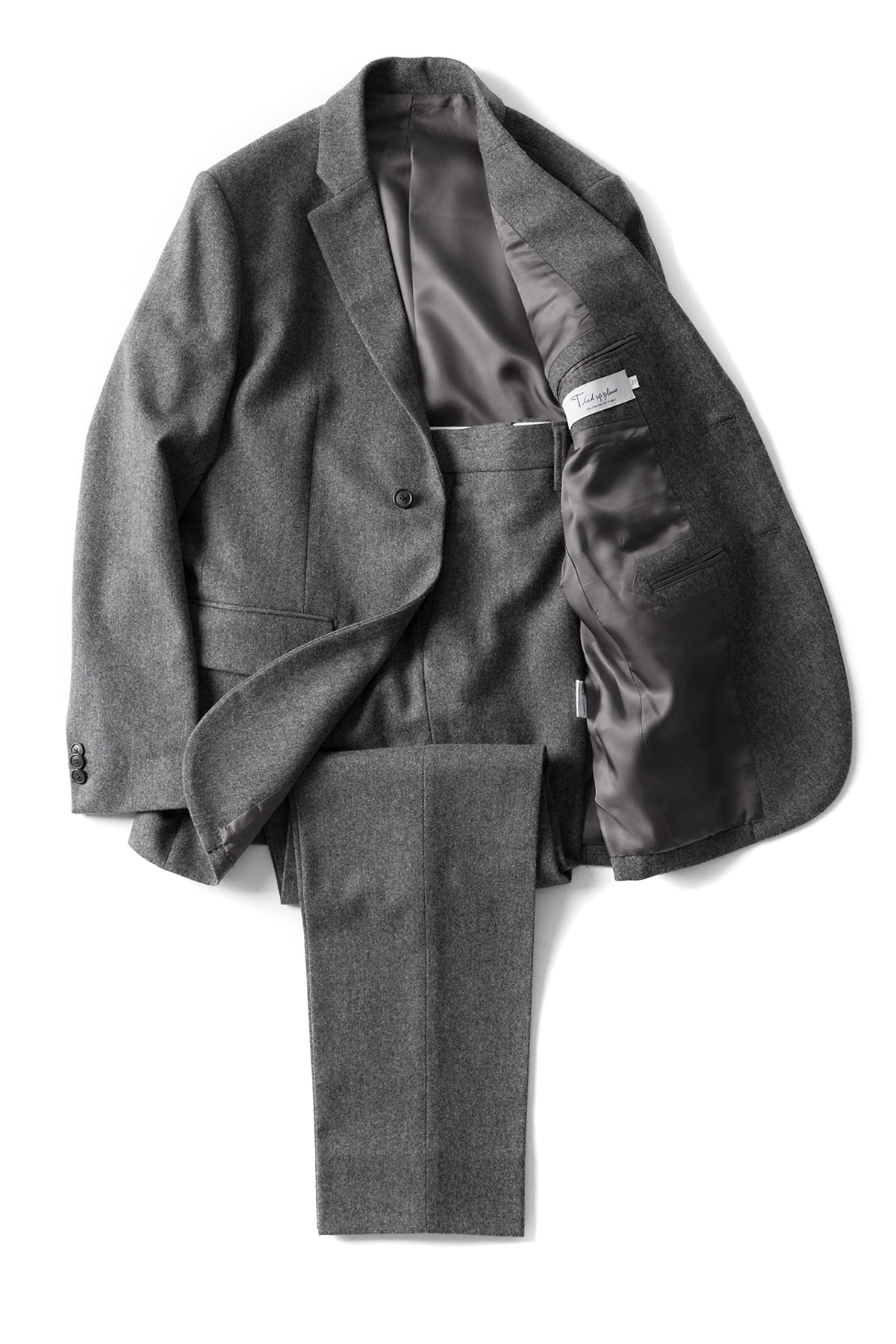 EEL/Tied Up Please : Stylish Man 2piece (Charcoal)