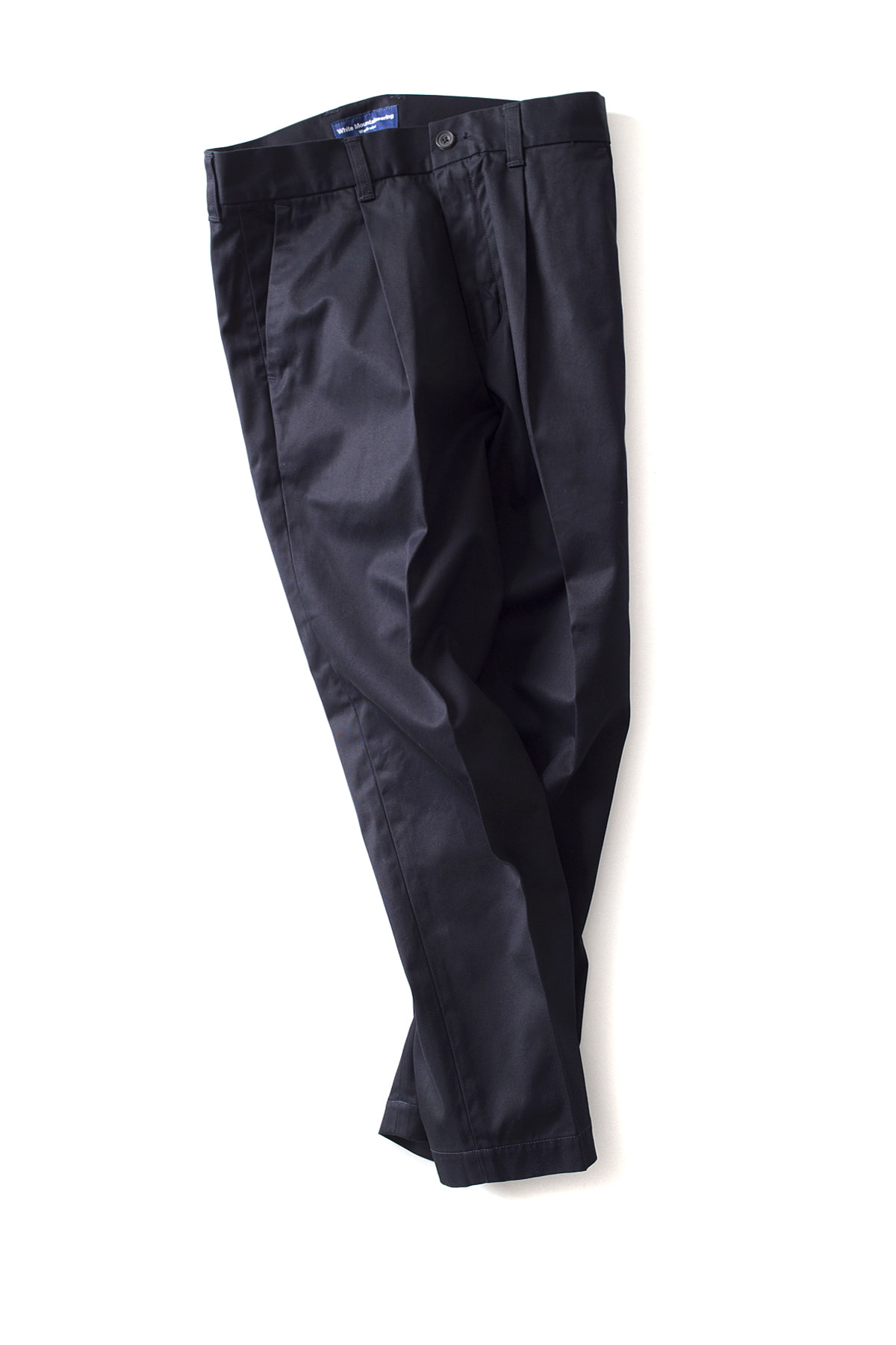 WHITE MOUNTAINEERING : Tapered Ankle Wide Pants (Navy)