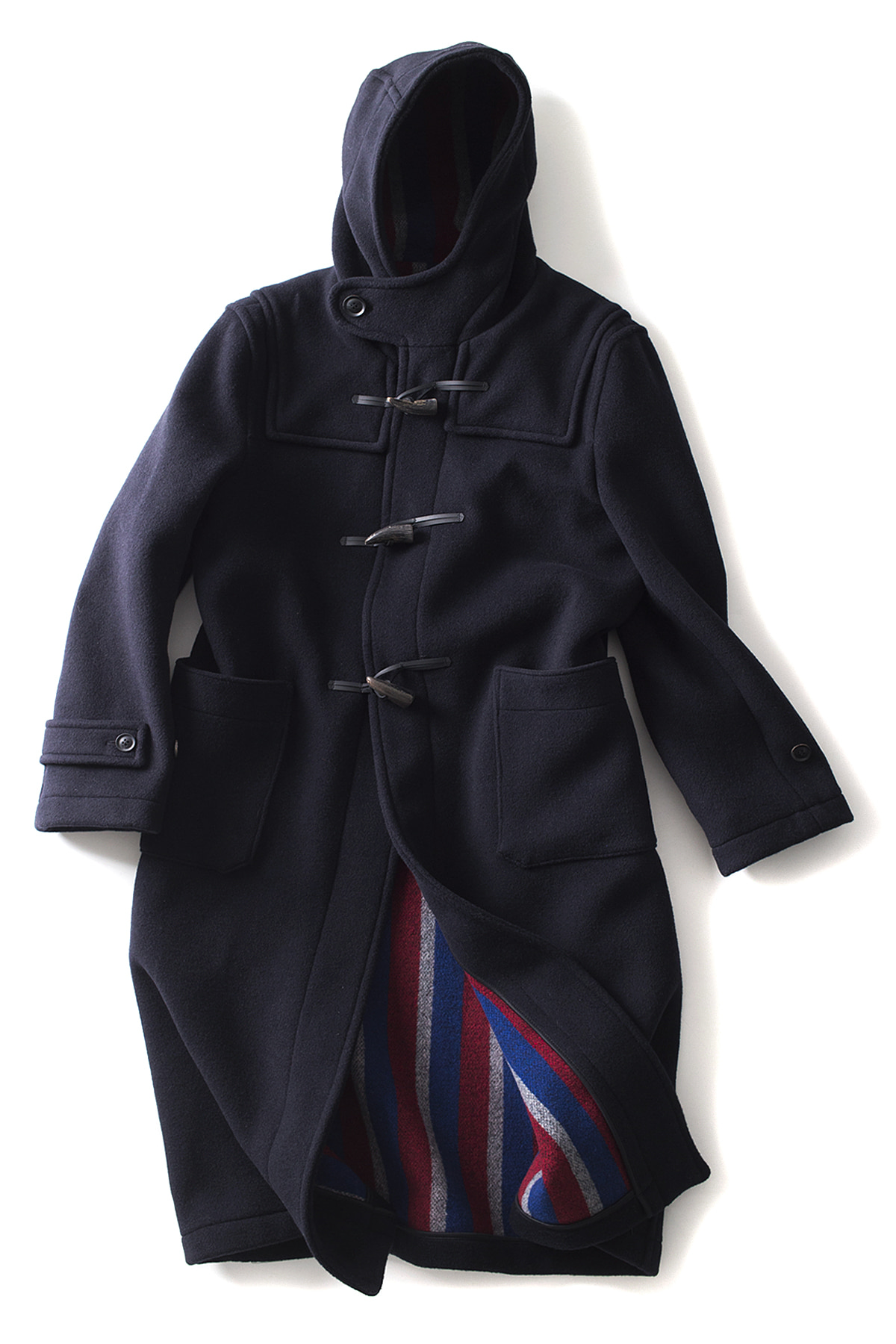 London Tradition : Mens Long Duffle (Navy)