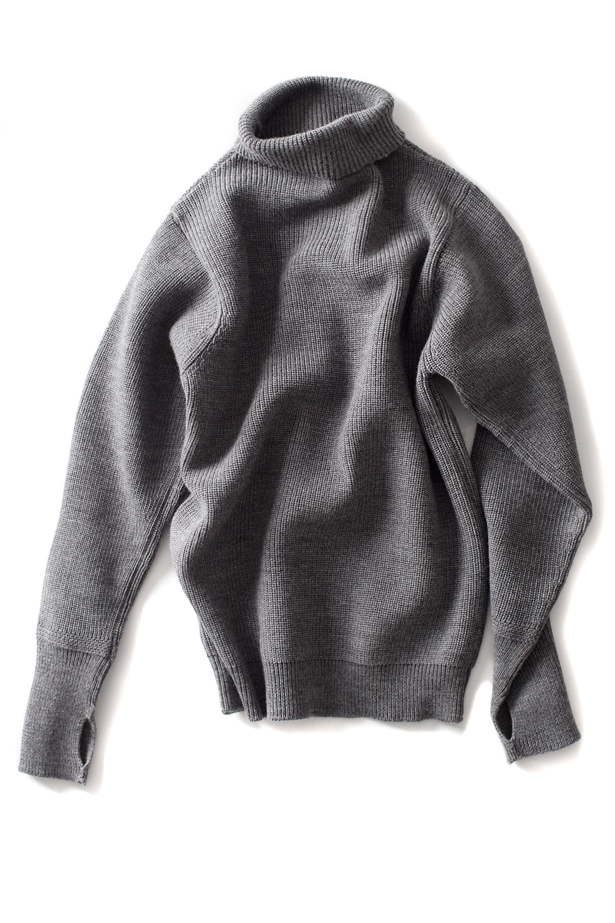 Andersen-Andersen : Sailor Turtleneck (Grey)