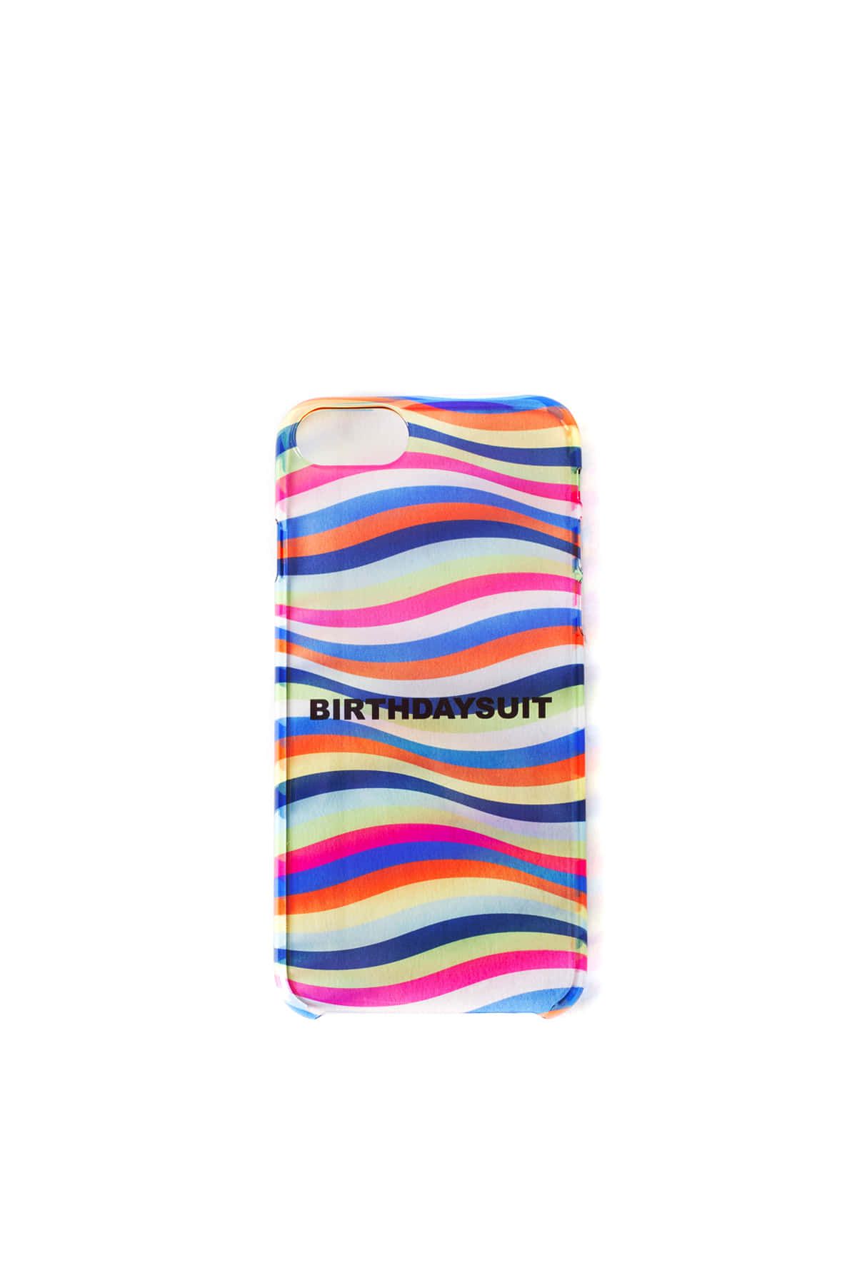 Uncommon x BIRTHDAYSUIT : Clear Deflector iPhone Case (SPRING STREAM)
