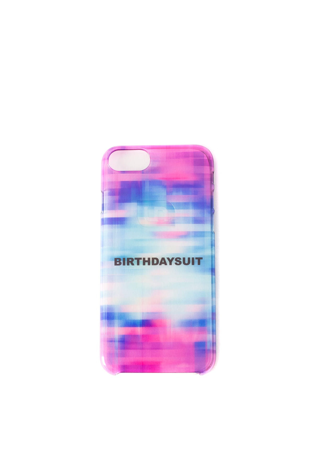 Uncommon x BIRTHDAYSUIT : Clear Deflector iPhone Case (GLITCH)