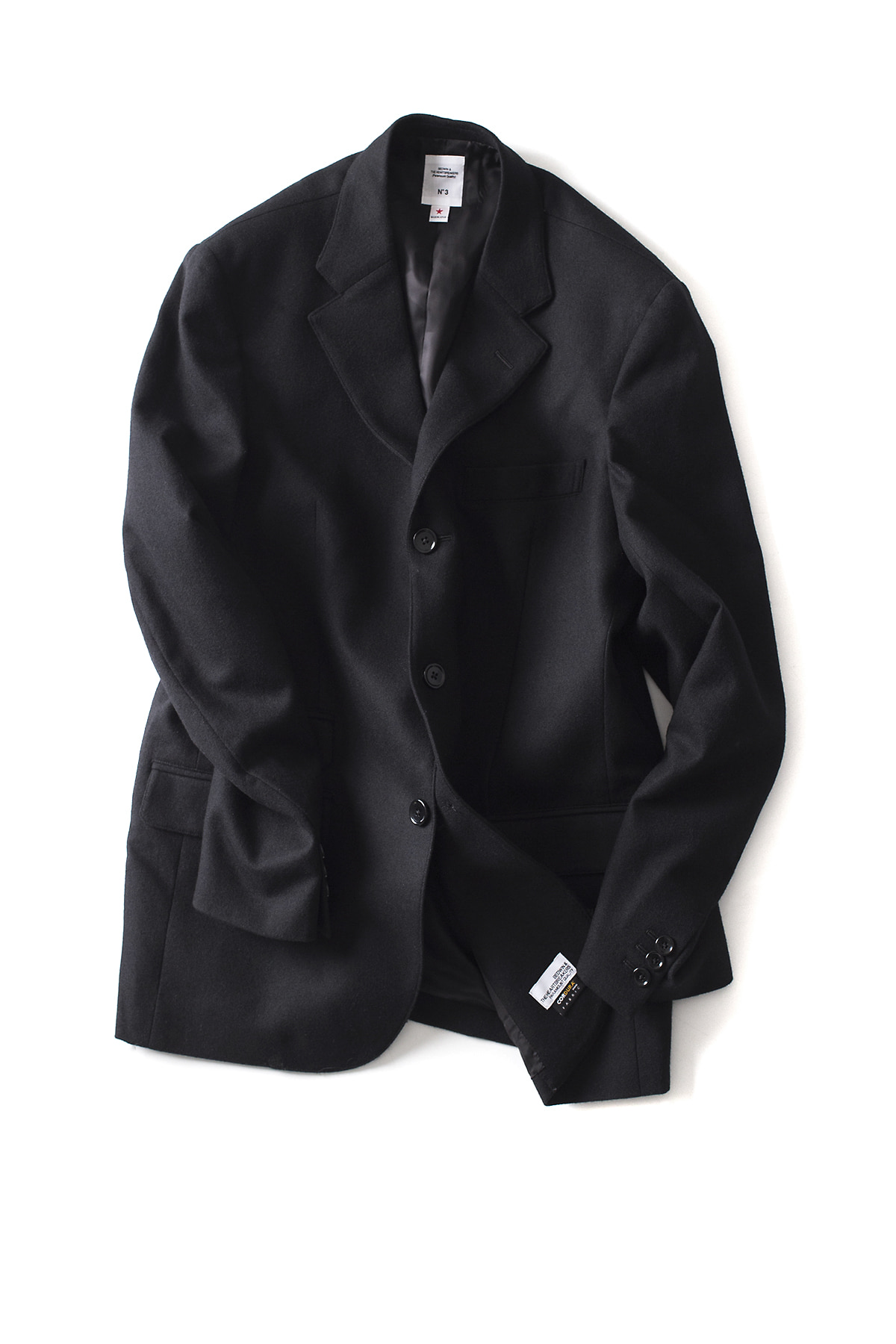 "Bedwin & The Heartbreakers : 3B Wool Taylor Jacket ""MICHAEL"" (Black)"