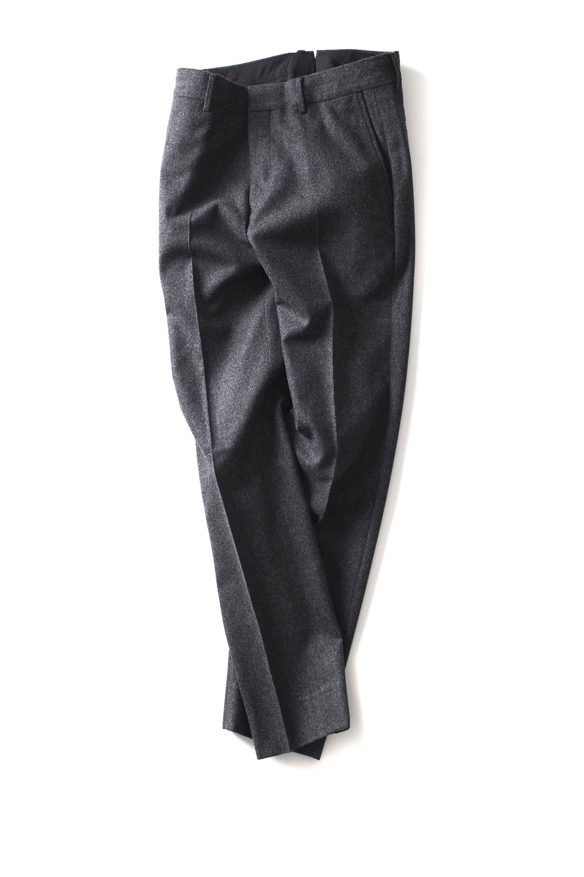 "Bedwin & The Heartbreakers : 10/L Tapered Cordura Wool Pants ""CHARLS"" (Charcoal)"