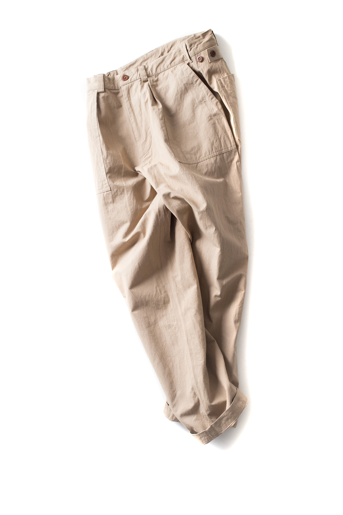 maillot : Hemp Over Pants (Beige)