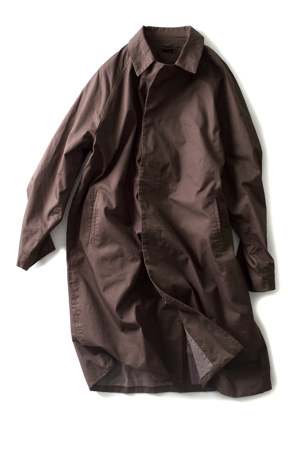 maillot : Cotton Over Coat (Brown)