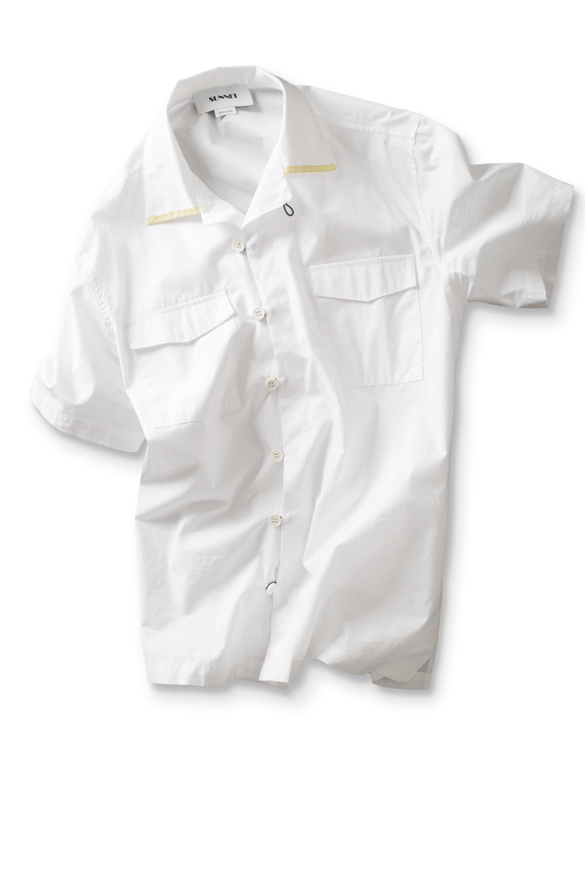 SUNNEI : Hawaian Shirt (White)