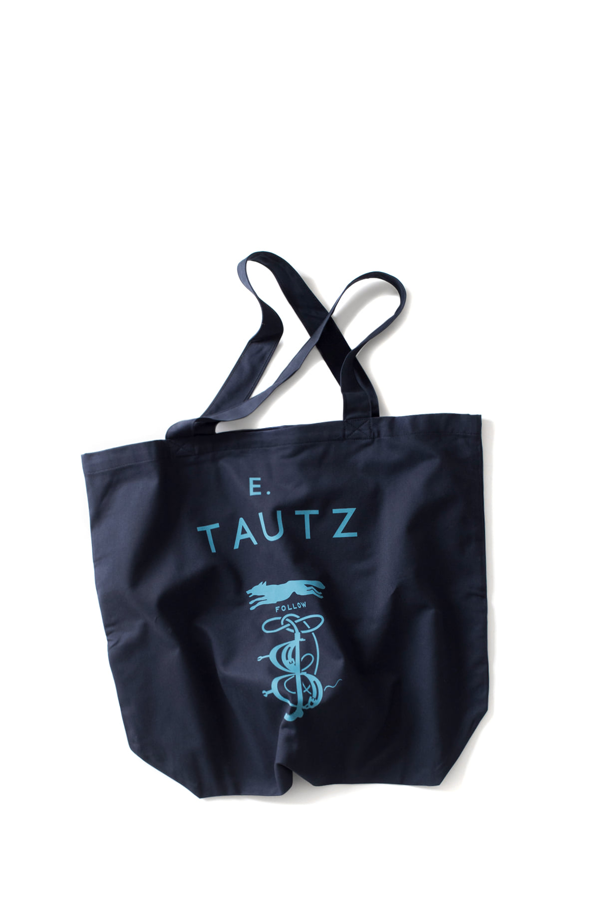 E. Tautz : Core Tote Bag (Light Blue)