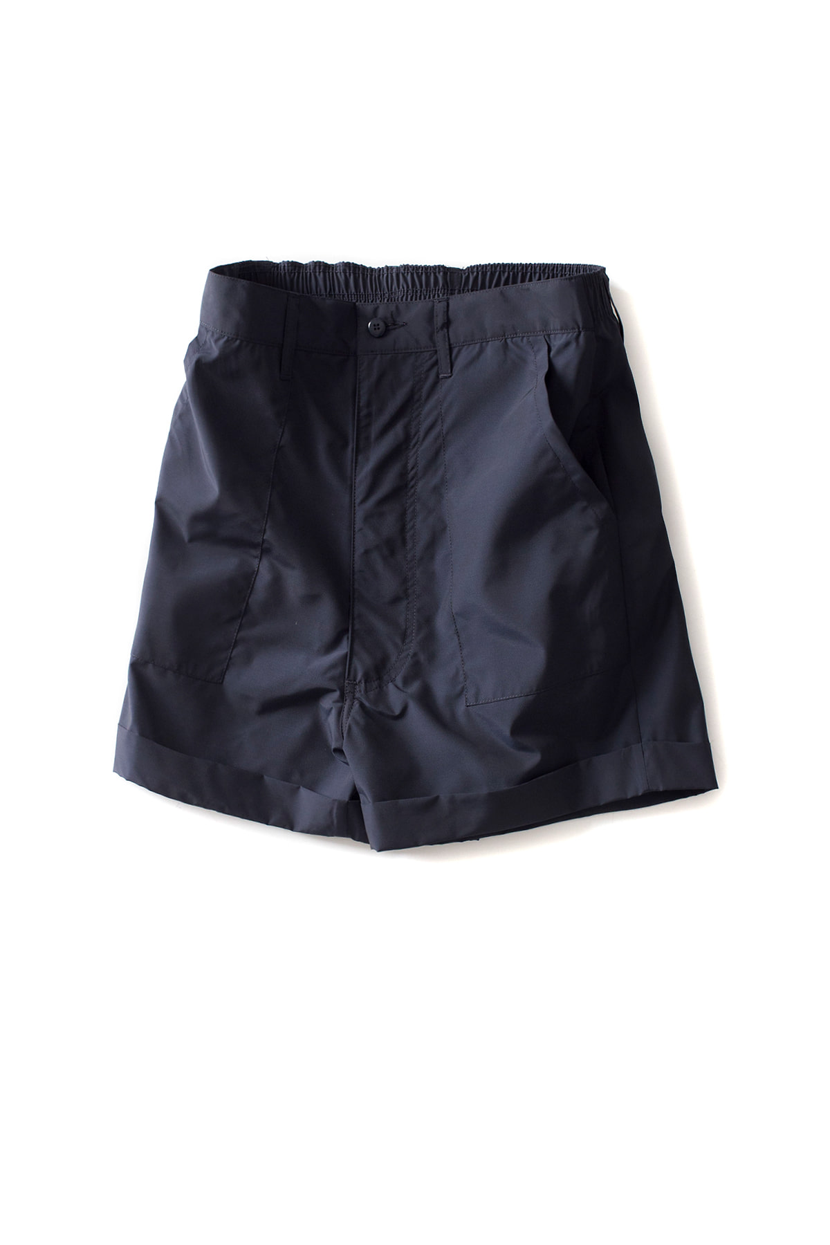 E. Tautz : Work Shorts W/Turn Up (Navy)