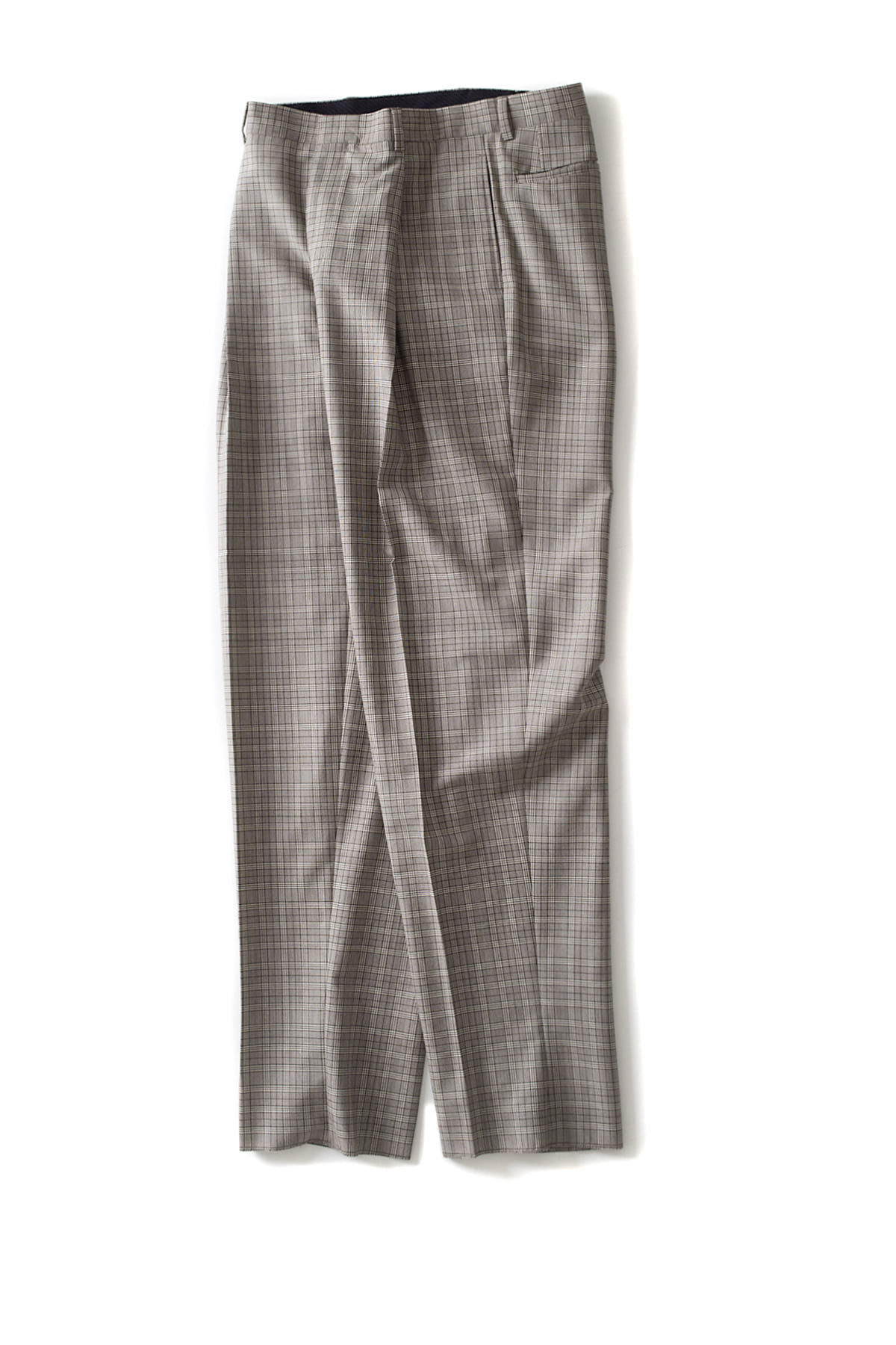 E. Tautz : Pleated Trousers (Glen Check)