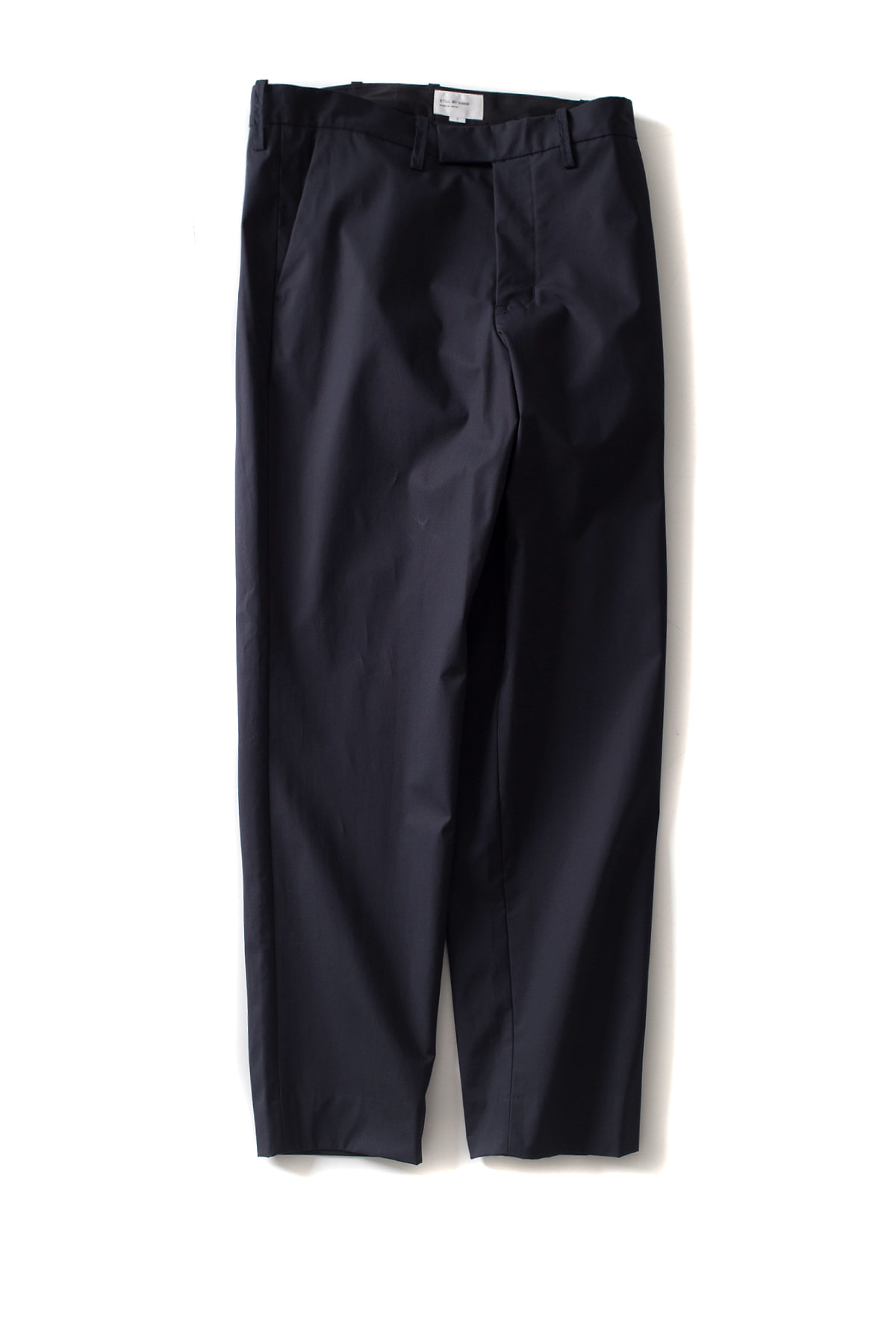 Still by Hand : Bonded Pants (Navy)