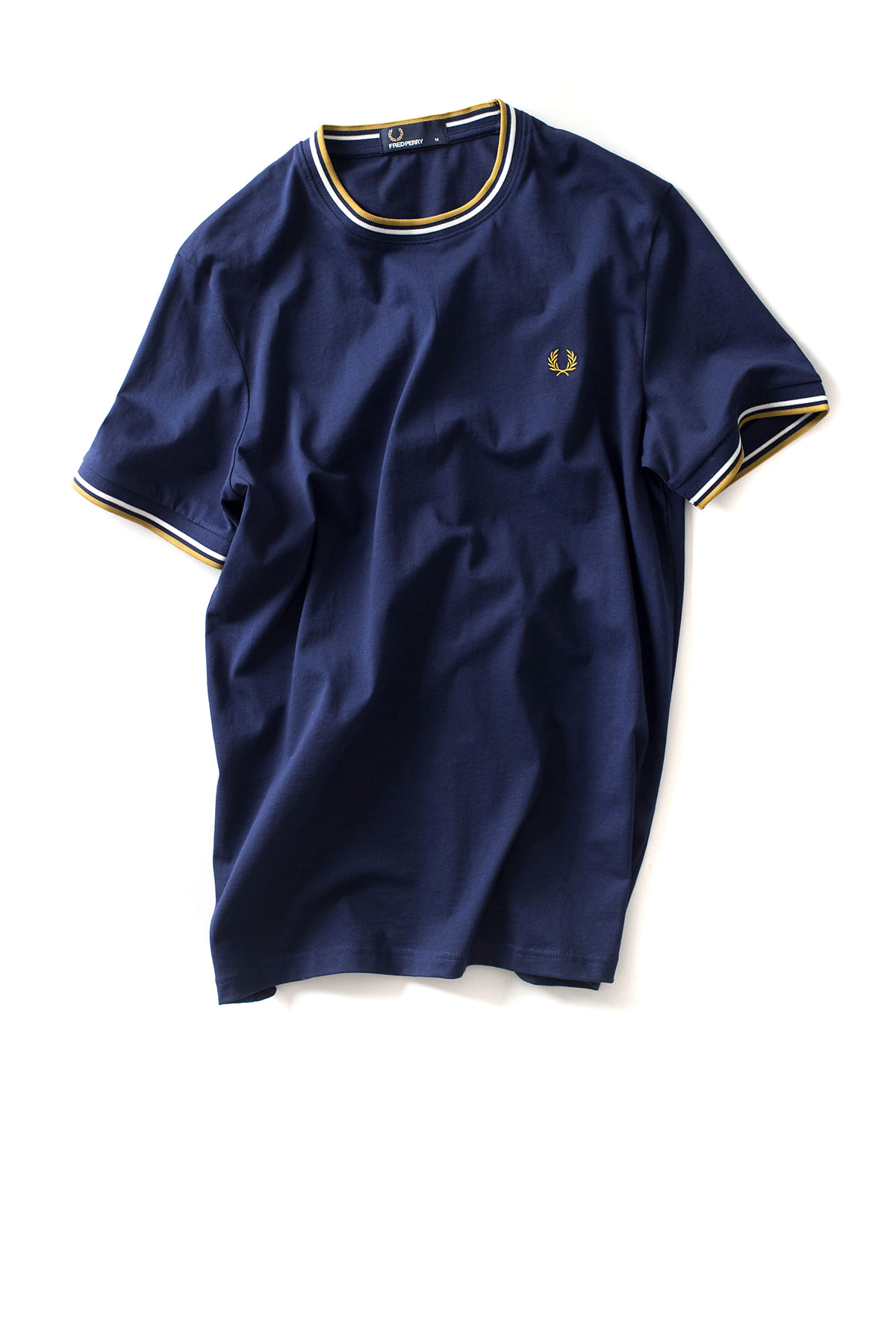 FRED PERRY : Twin Tipped T-Shirt (French Navy)