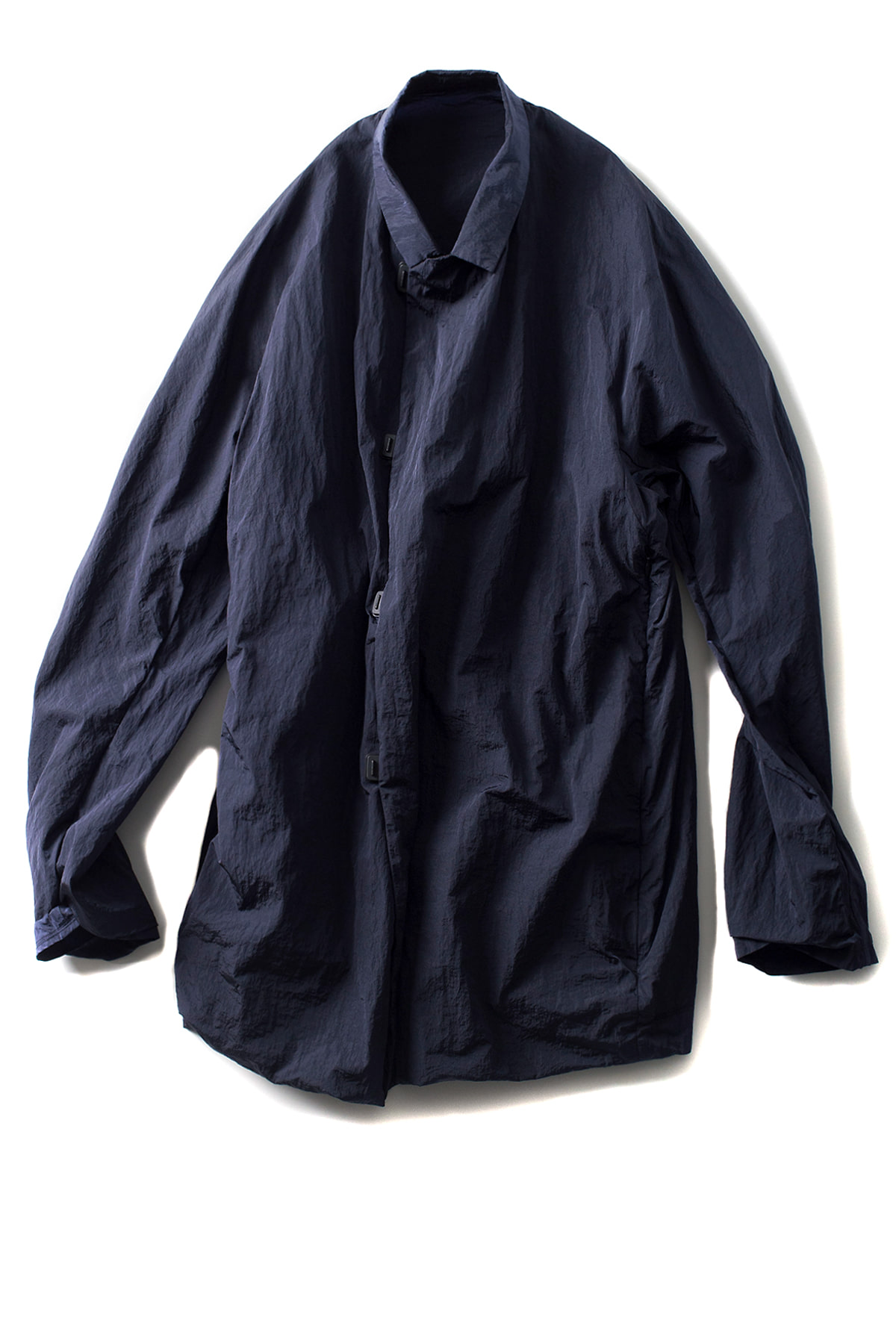 TEATORA : Wallet Coat S/L LP (Metallic Navy)