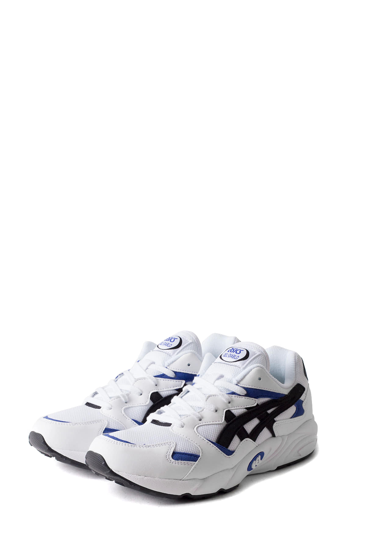 asics tiger : GEL-DIABLO (White / Blue)