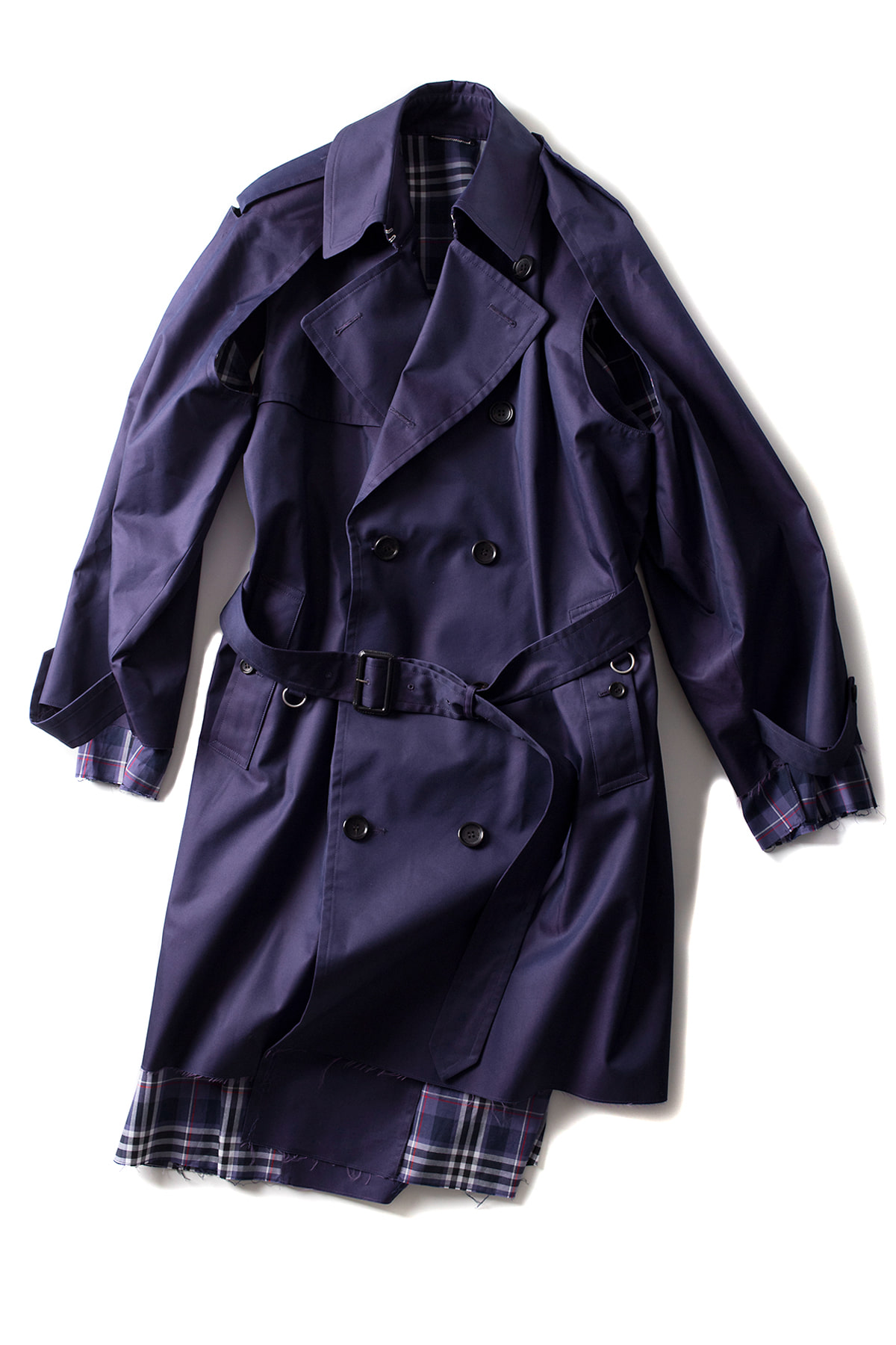 JOHN LAWRENCE SULLIVAN : Trench Coat (Navy)