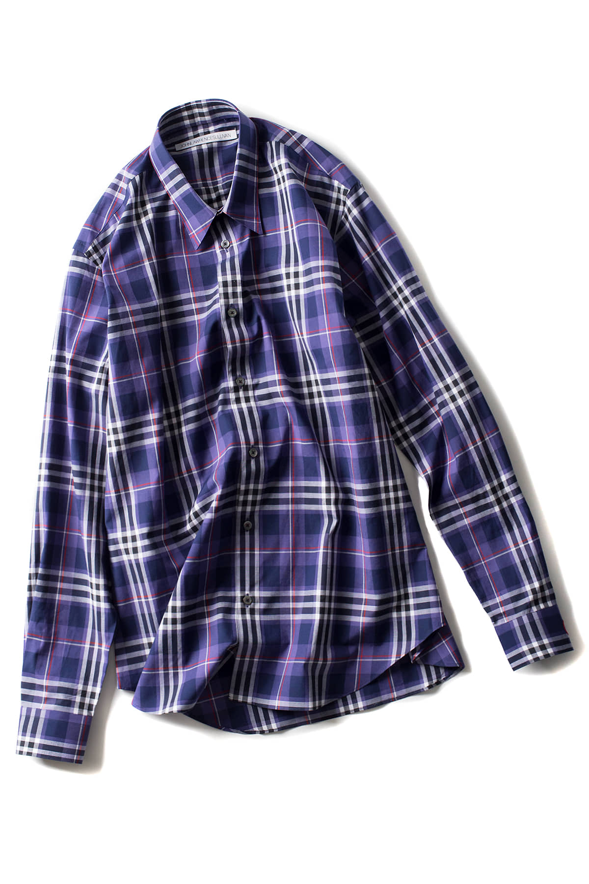 JOHN LAWRENCE SULLIVAN :Check Shirt (Purple)