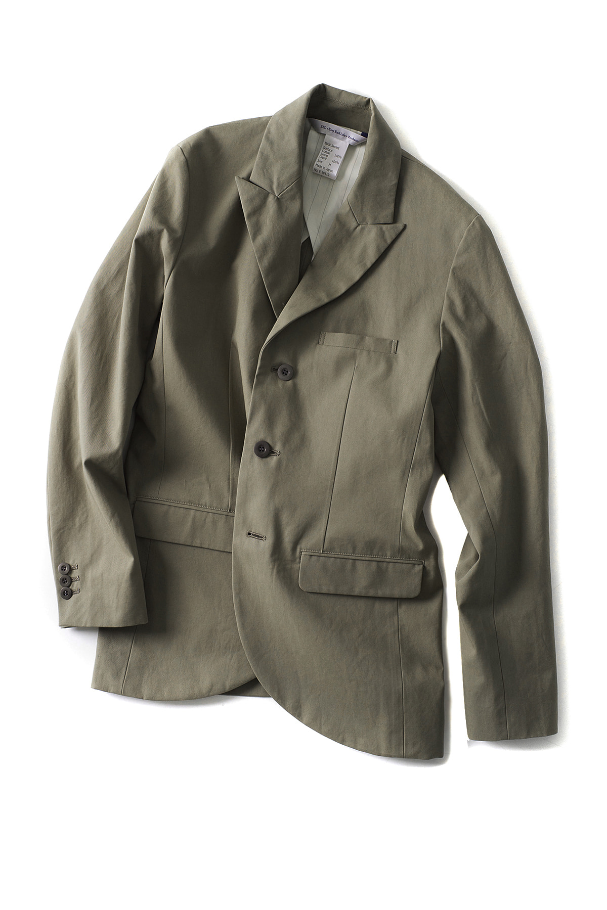 EEL : Stick Jacket (Olive)