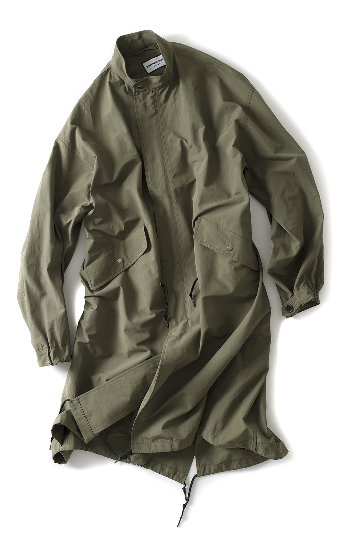 BIRTHDAYSUIT : Fishtail Parka (Olive Green)