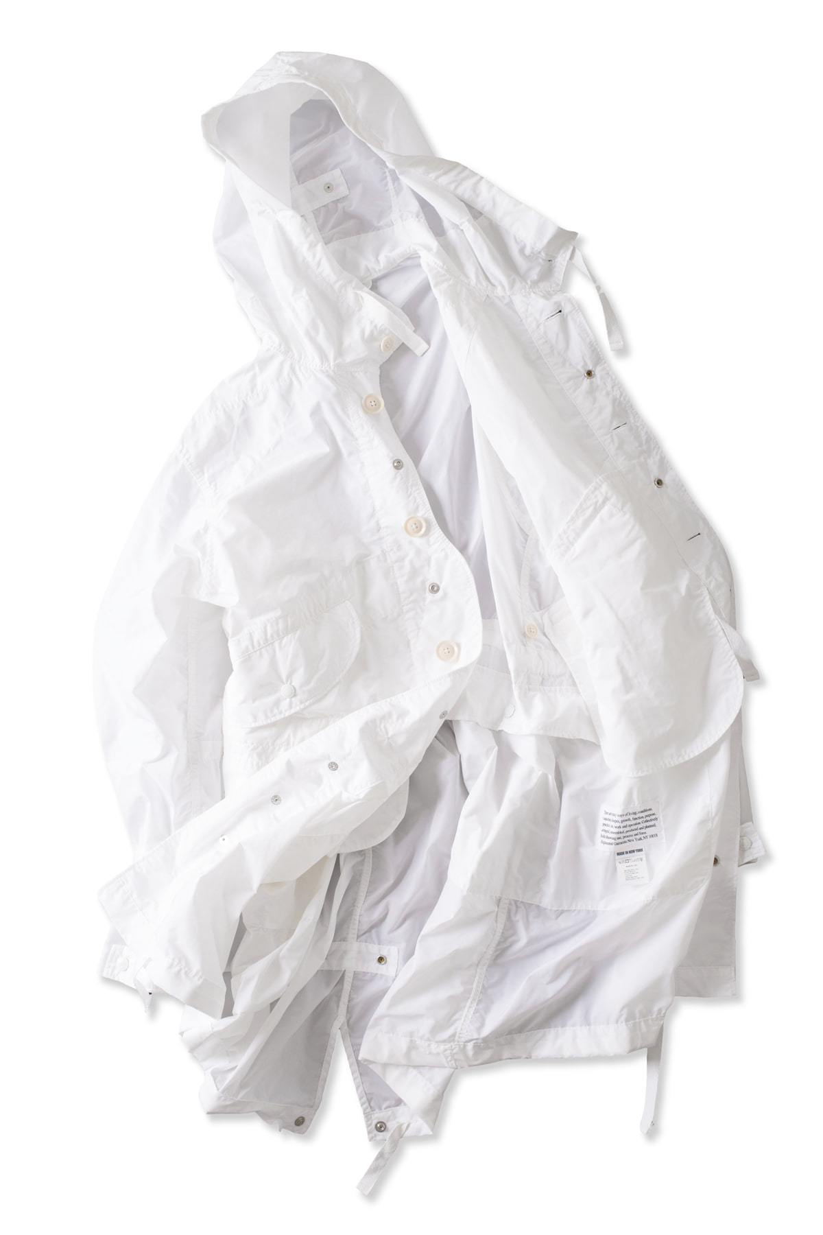 Engineered Garments : Highland Parka (White)