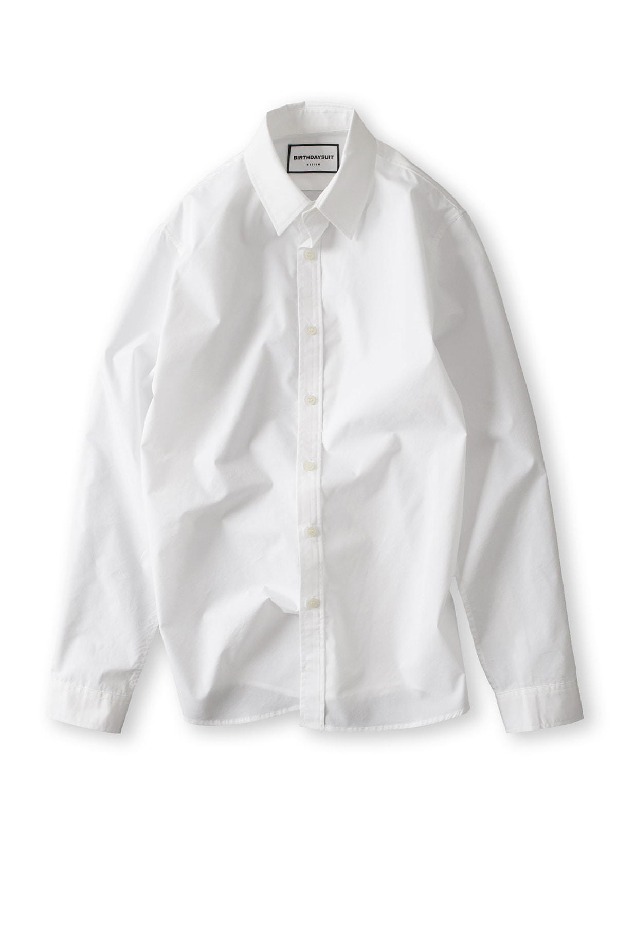 BIRTHDAYSUIT : Basic Shirt (Pure White)