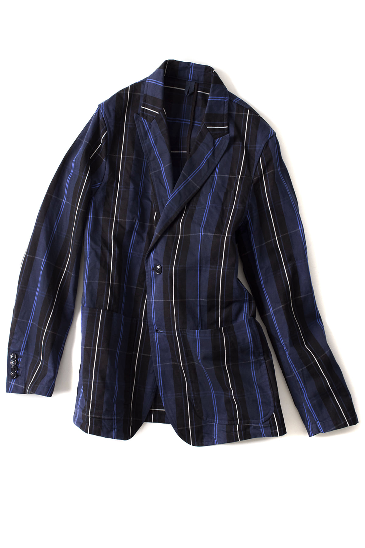 Ts(s) : 2Button Peaked Lapel Jacket (Navy)