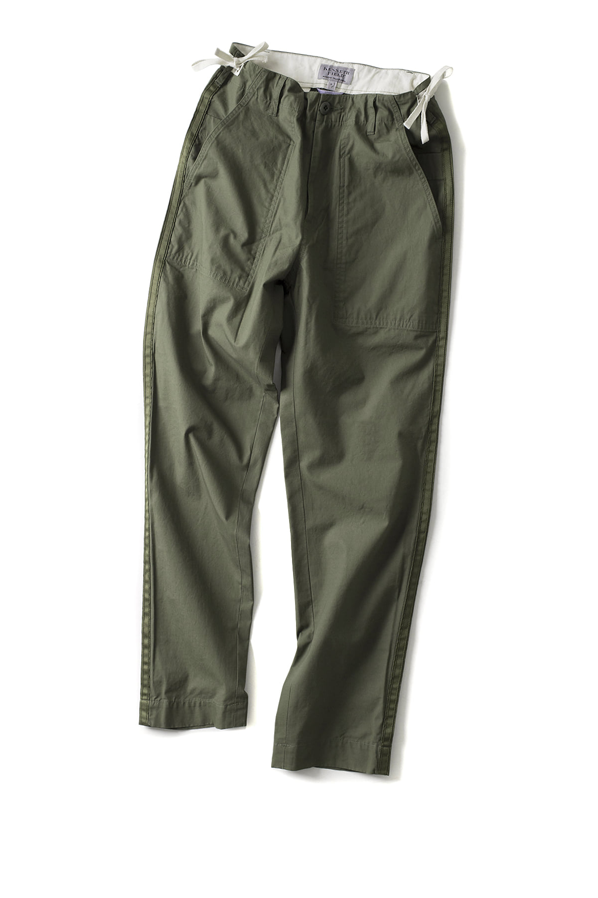 Kenneth Field : Ceremony Trouser Ripstop (Olive)