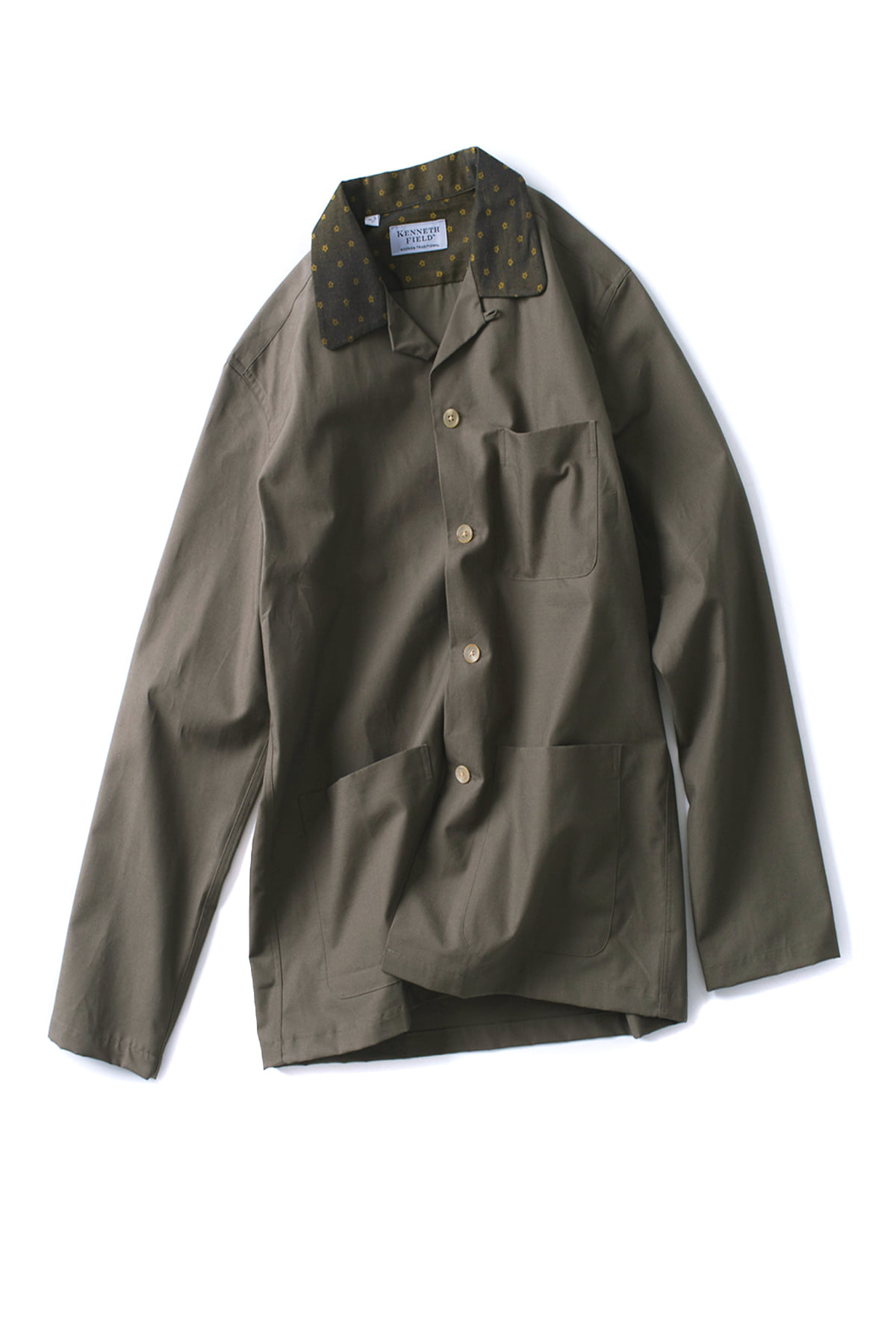 Kenneth Field : Ez-Jac Ripstop (Dark Olive)
