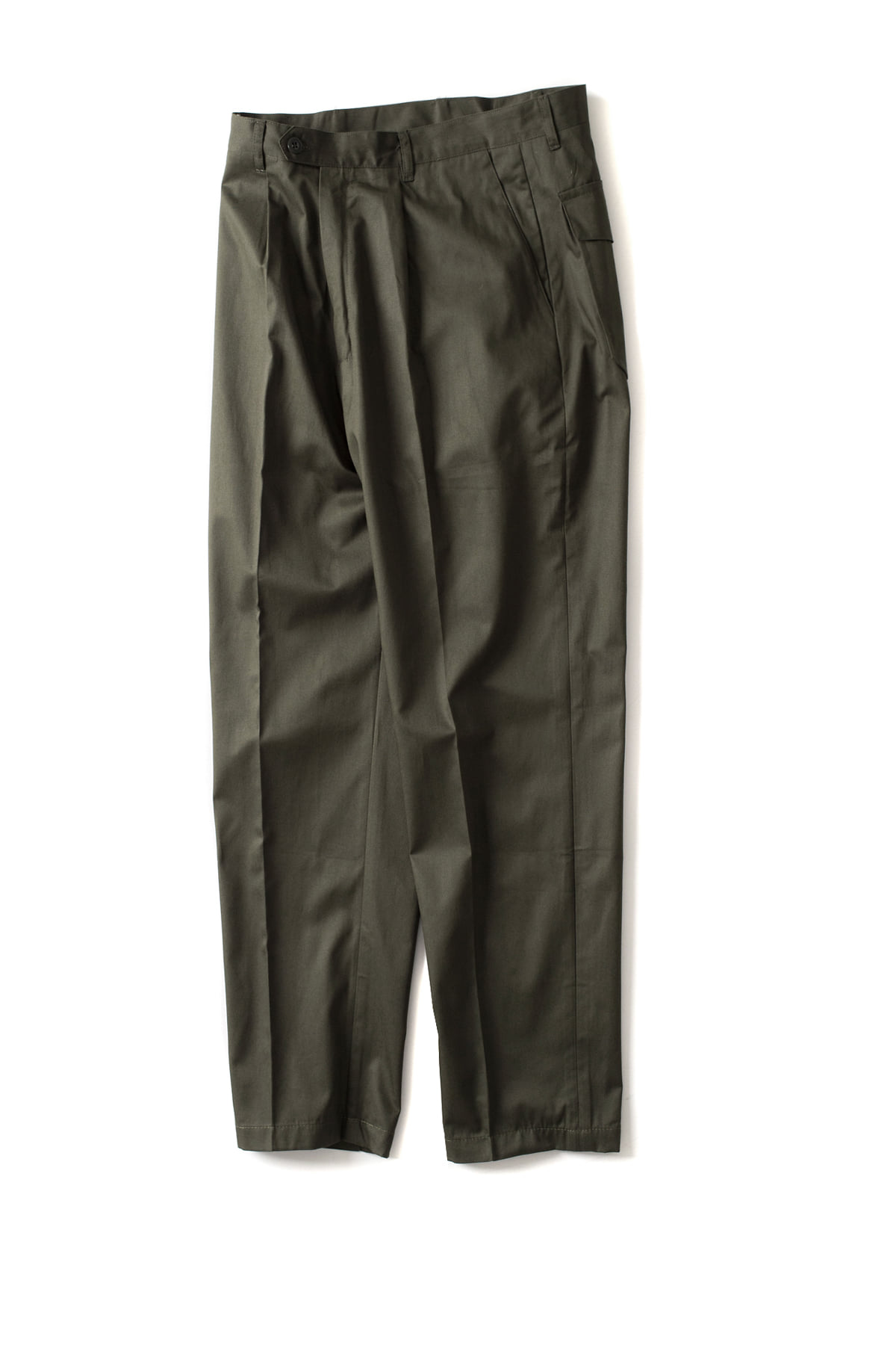 CAMO : Wide - Trousers (Drill Green)