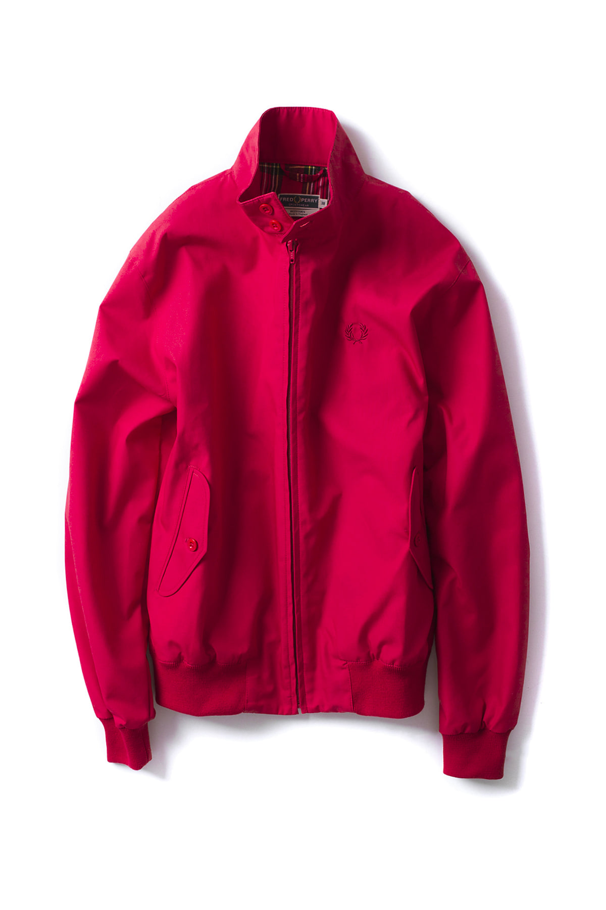 FRED PERRY : Made In England Harrington (Red)