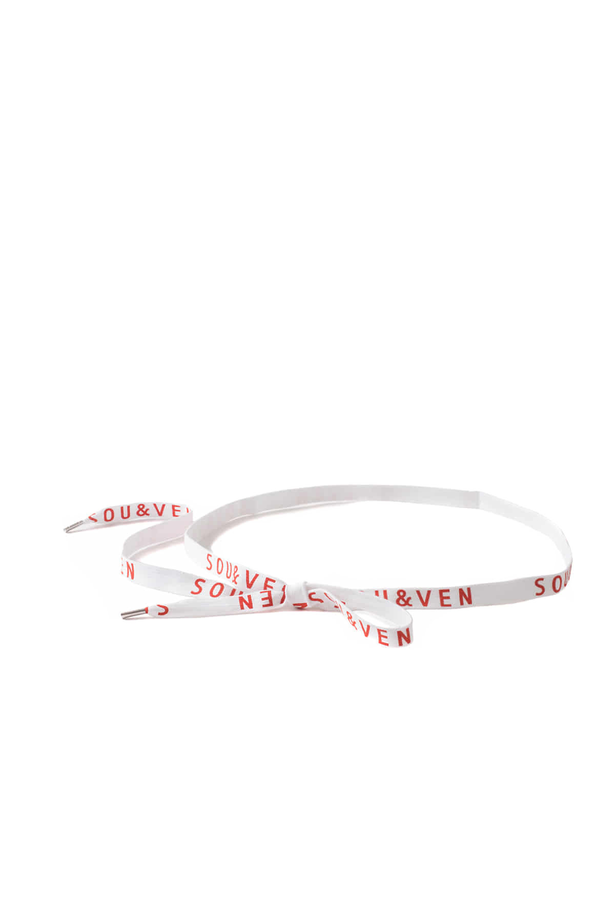 SOU&VEN : Shoelace Belt (White)