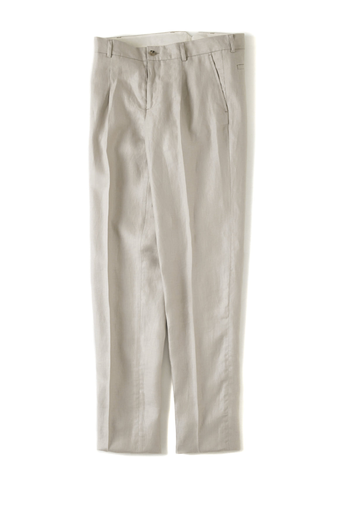 de bonne facture : One Pleat Trousers (Sand)