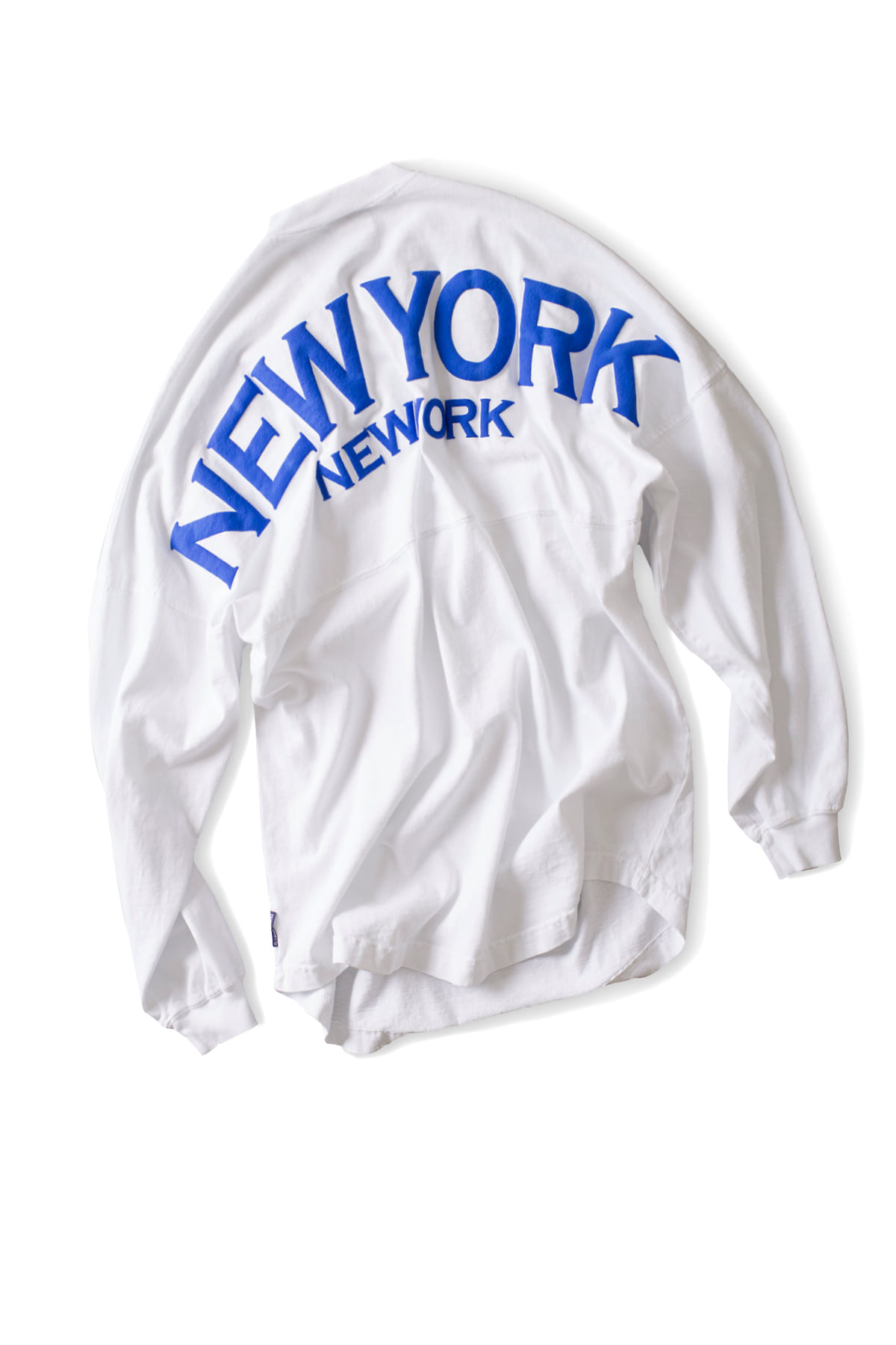Spirit Jersey : New York L/S Tee (White)