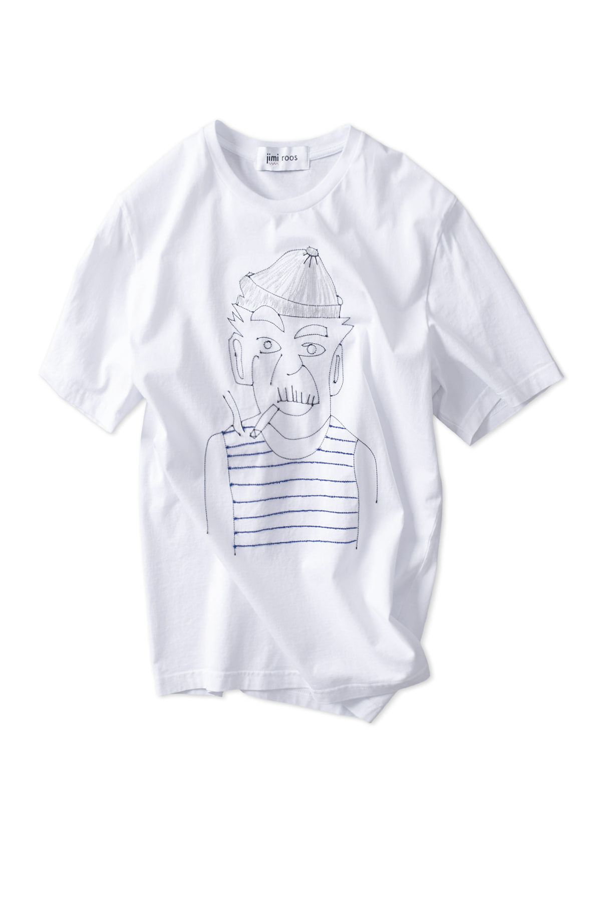 jimi roos : Sailor T-Shirt (White)