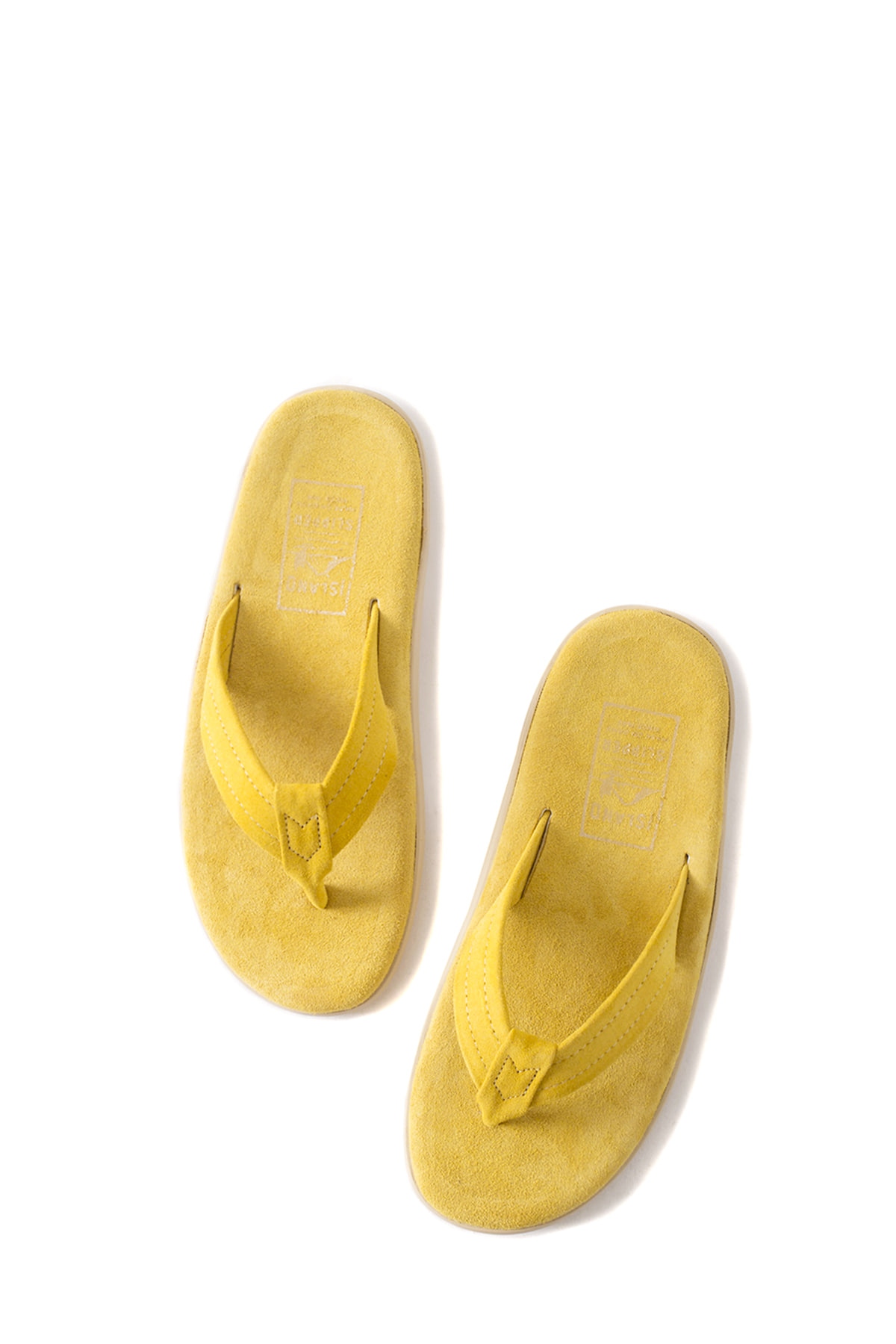 ISLAND SLIPPER : PT203 (Yellow Suede)