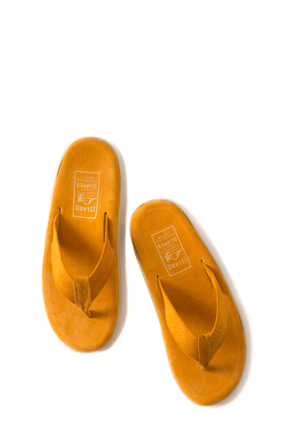 ISLAND SLIPPER : PT203 (Orange Suede)