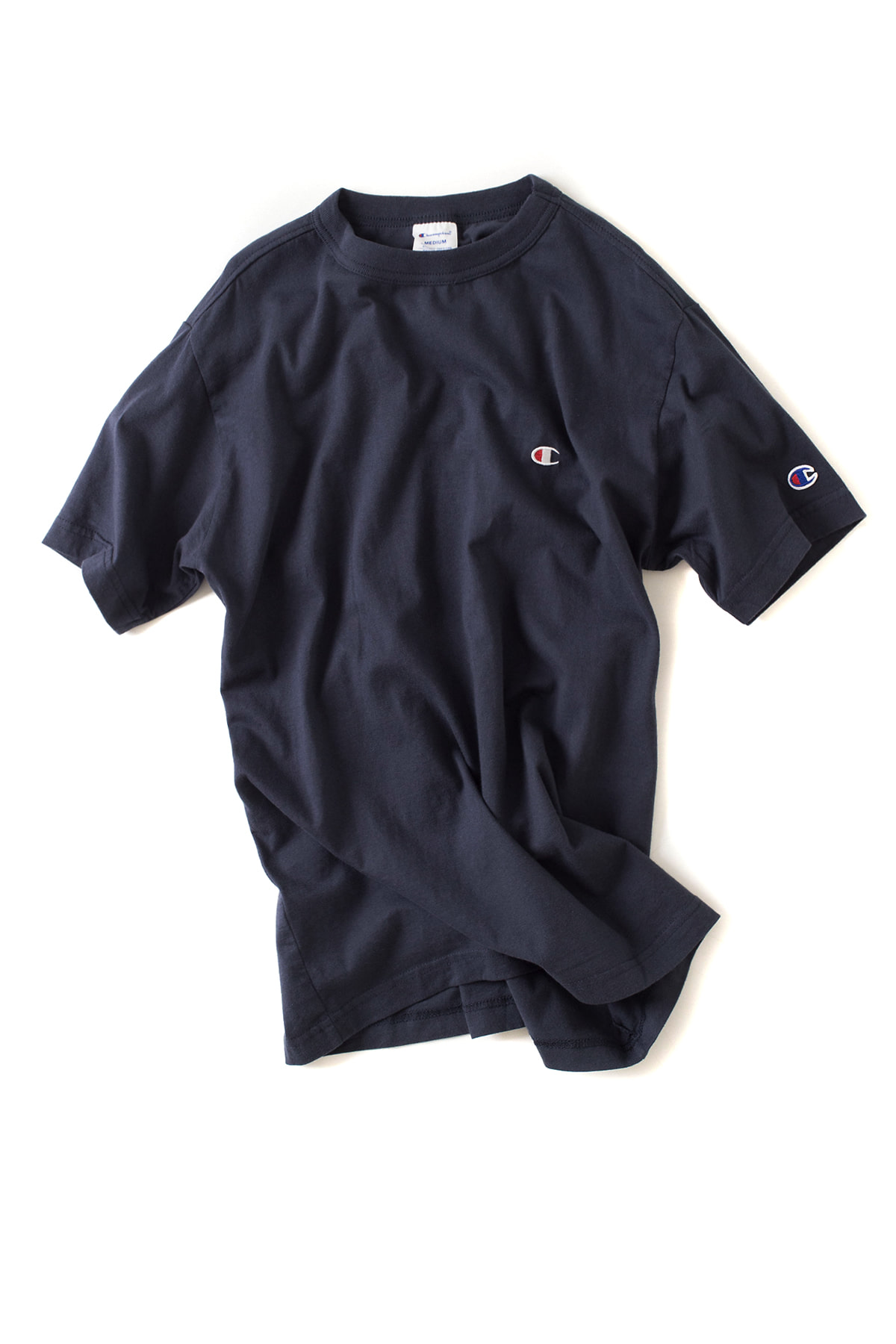 Champion : Basic T-Shirt (Navy)