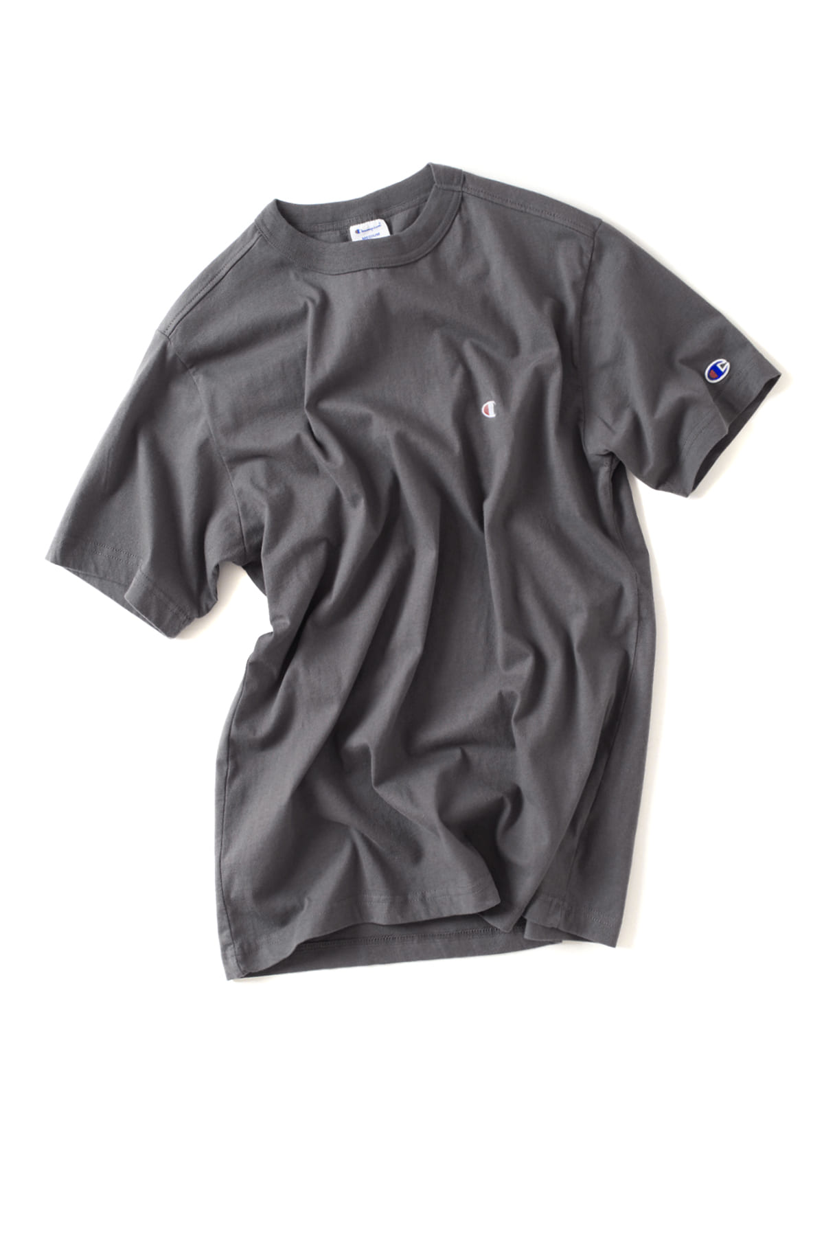 Champion : Basic T-Shirt (Charcoal)
