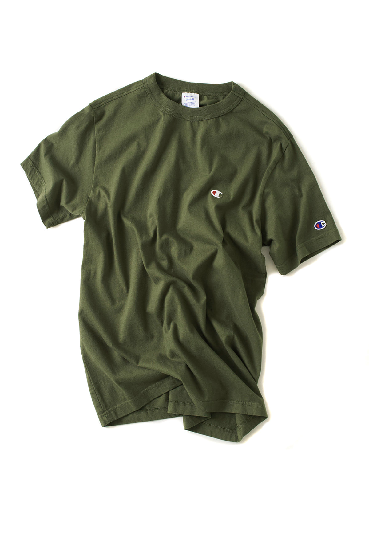 Champion : Basic T-Shirt (Dark Green)