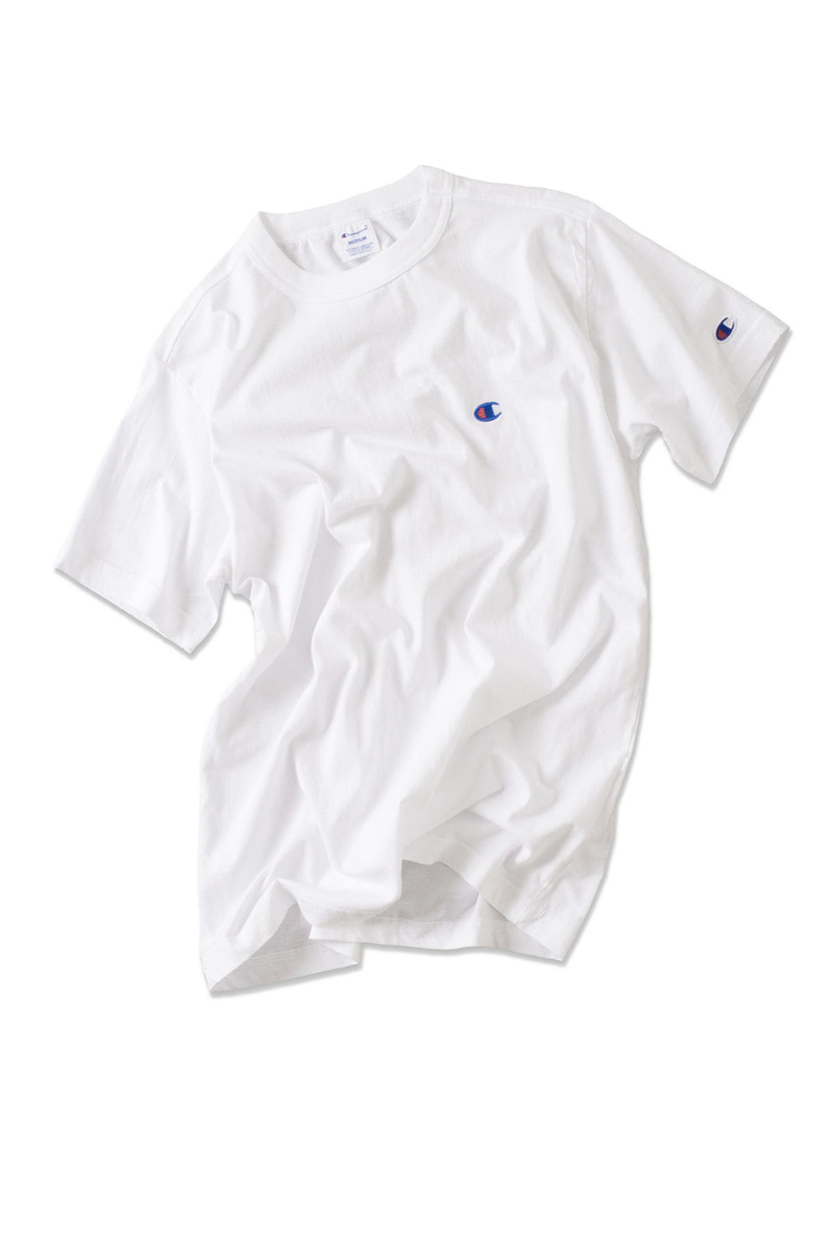 Champion : Basic T-Shirt (White)