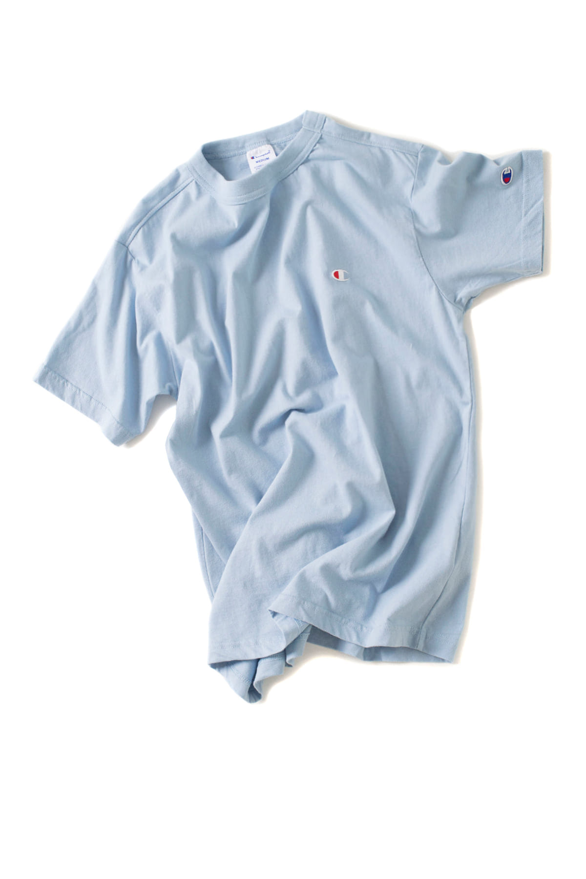 Champion : Basic T-Shirt (Pale Blue)