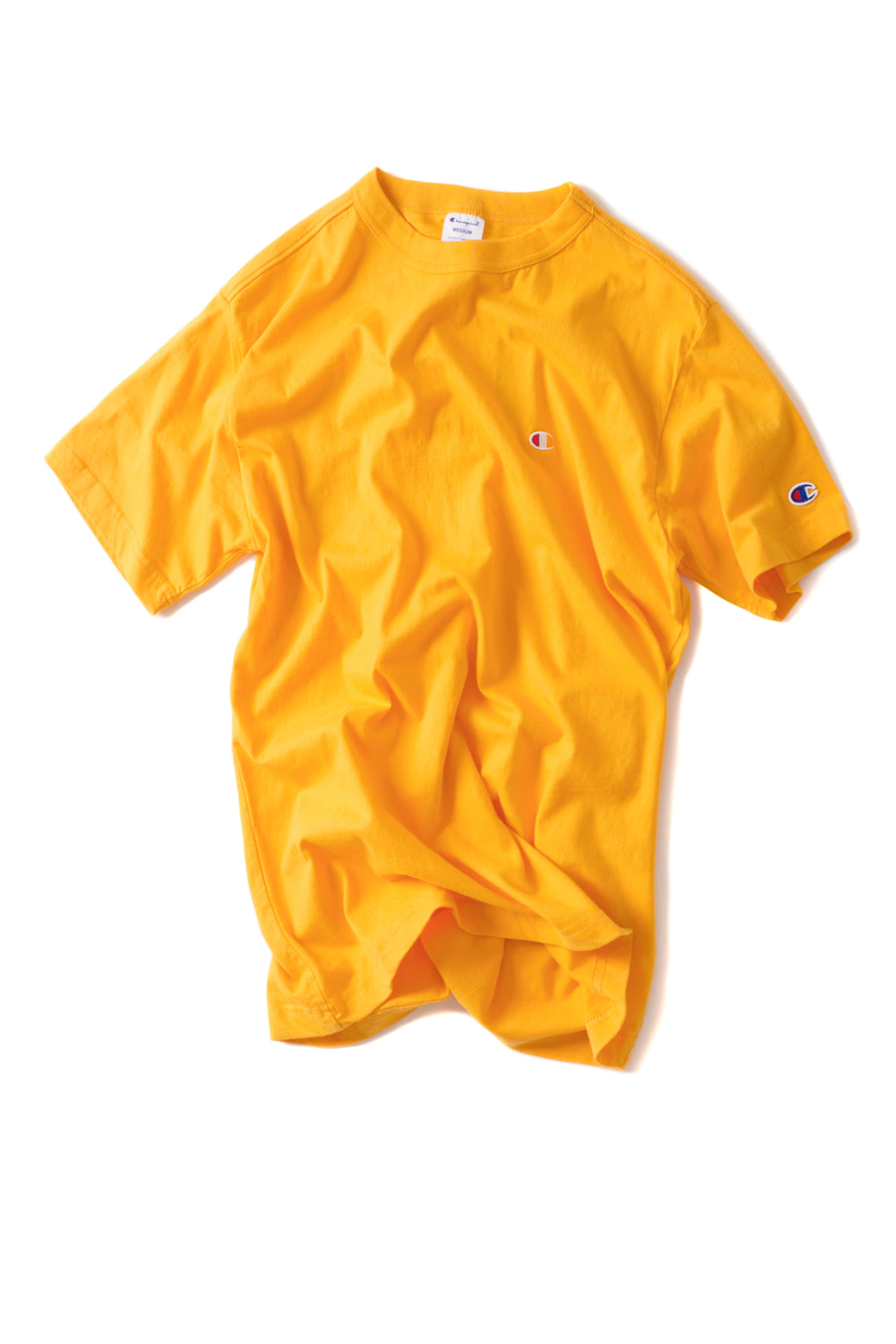 Champion : Basic T-Shirt (Yellow)