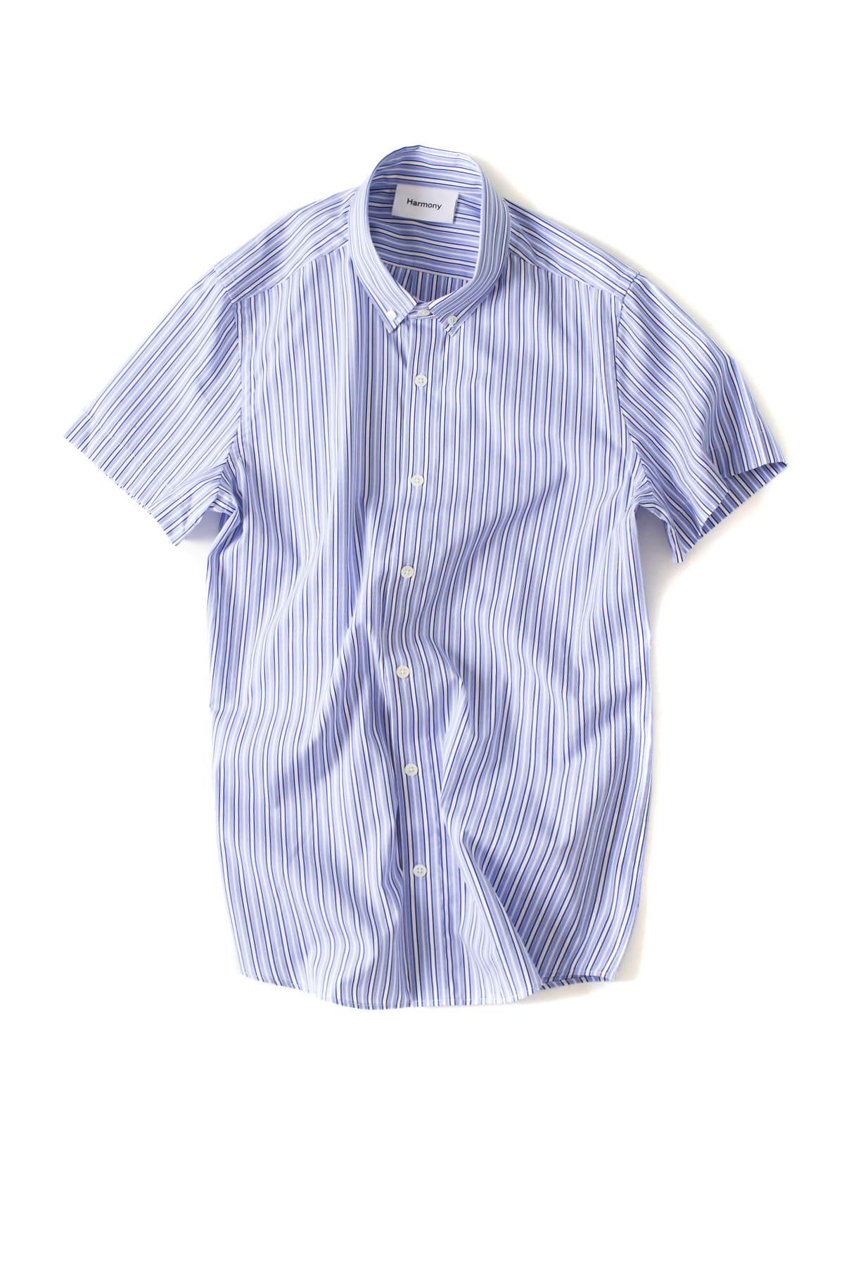 HARMONY : Camden Shirt (Blue Striped)